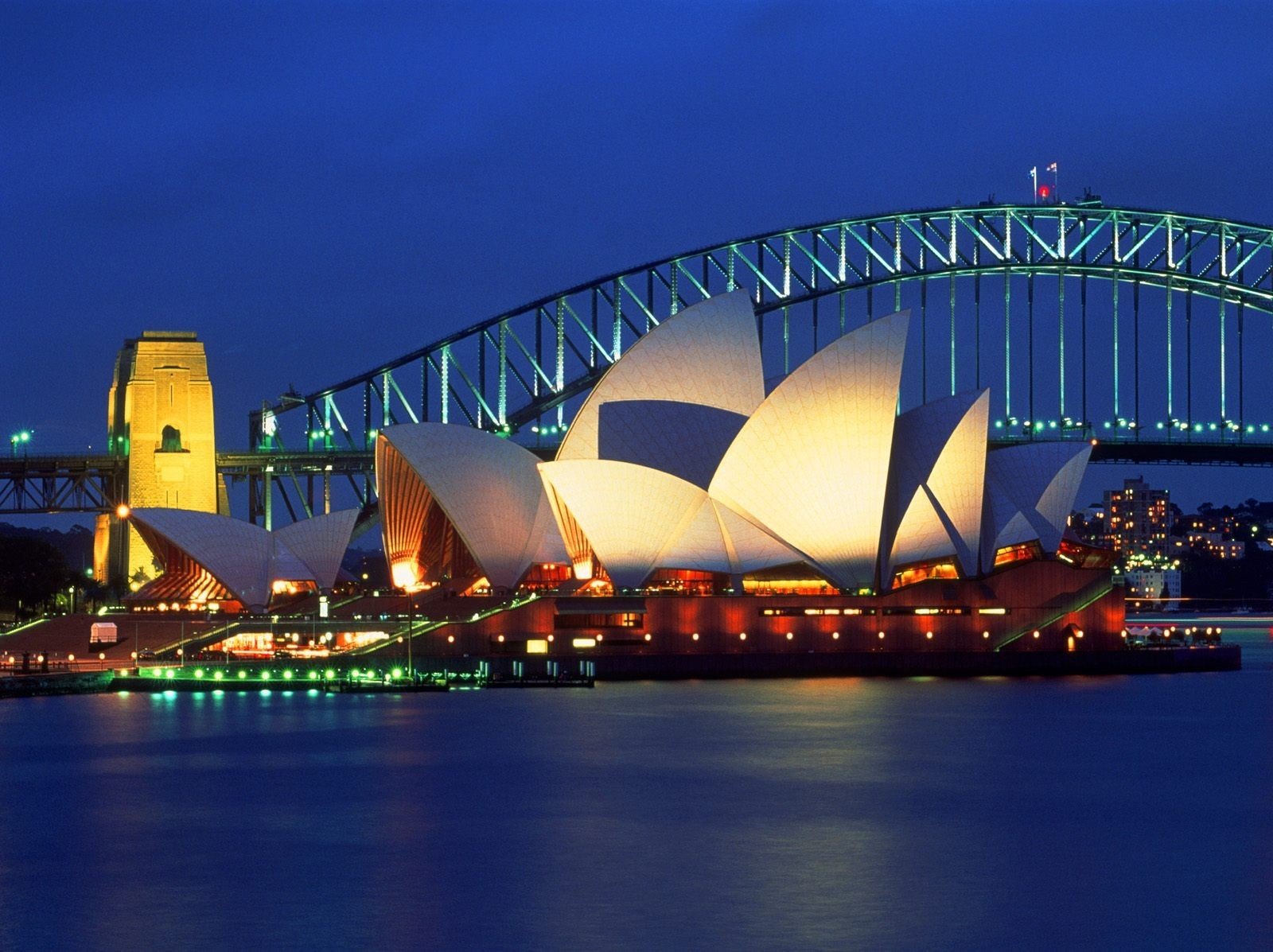 cityscapes Sydney auditorium HD Wallpaper