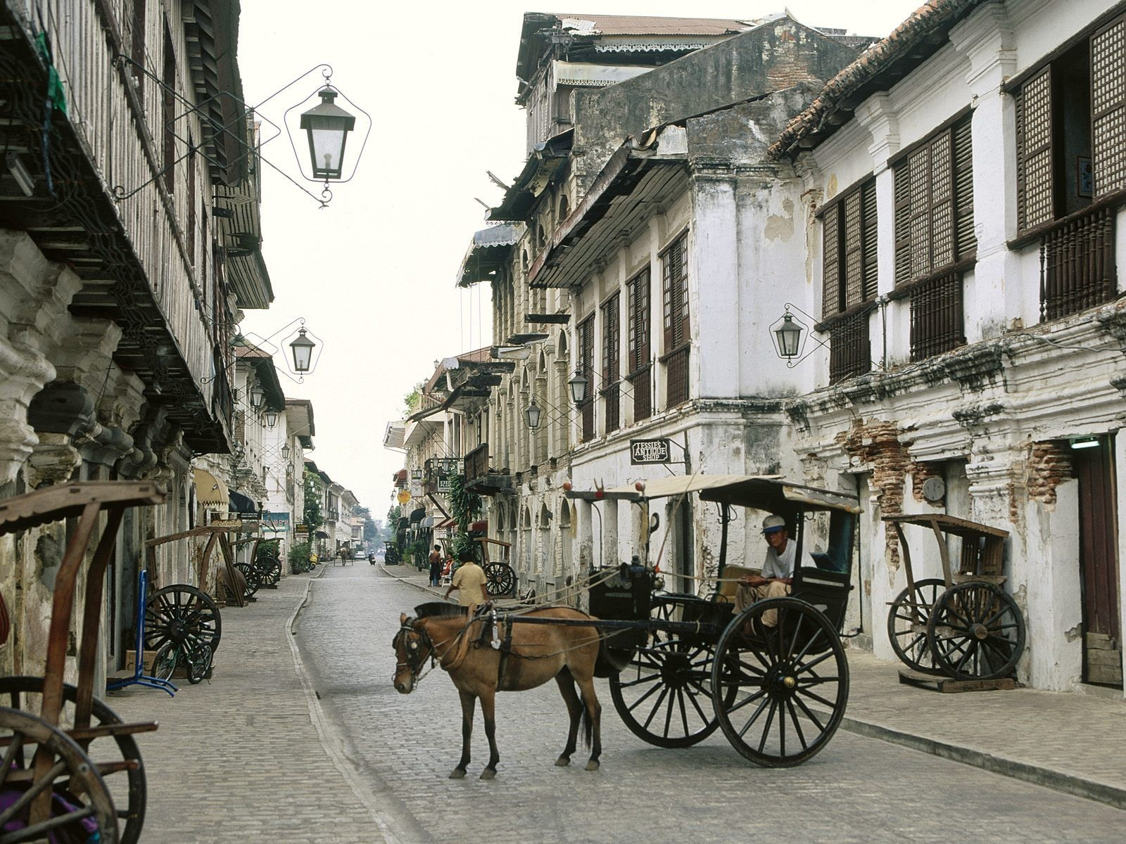 cityscapes urban Philippines Horses HD Wallpaper