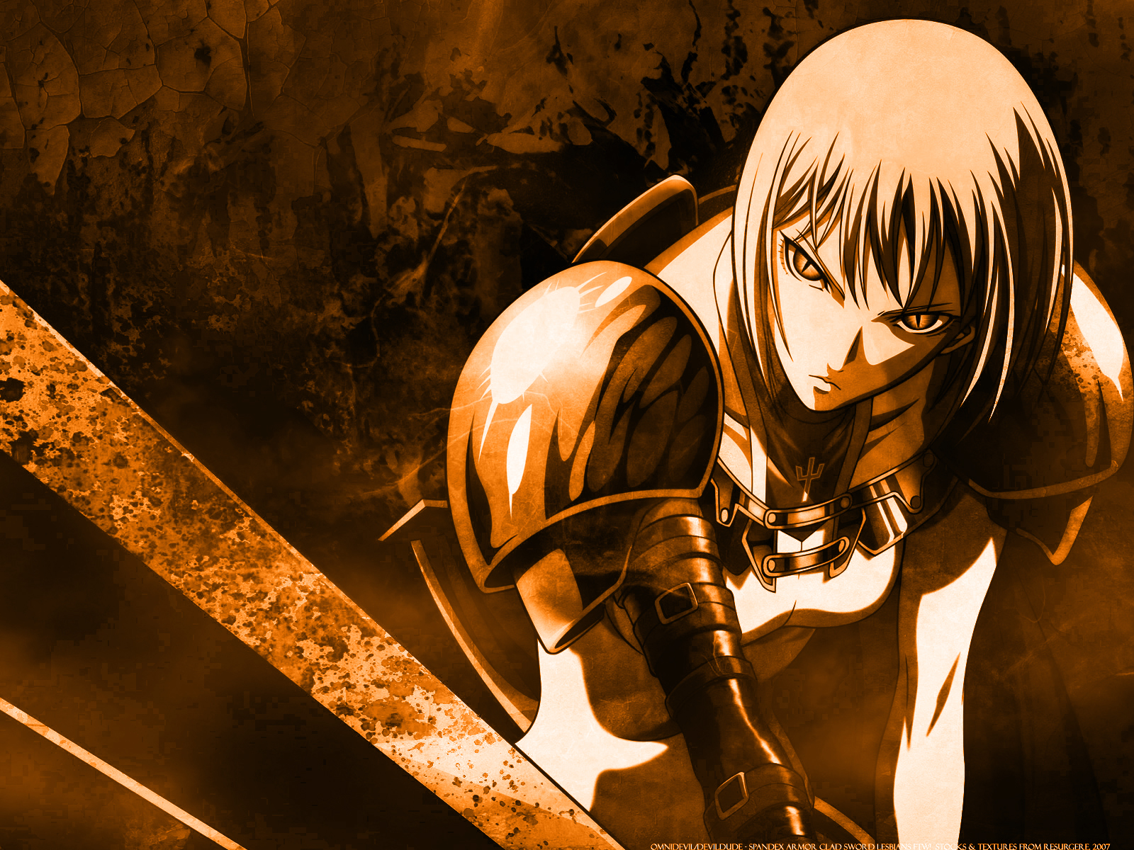 claymore claire Anime HD Wallpaper