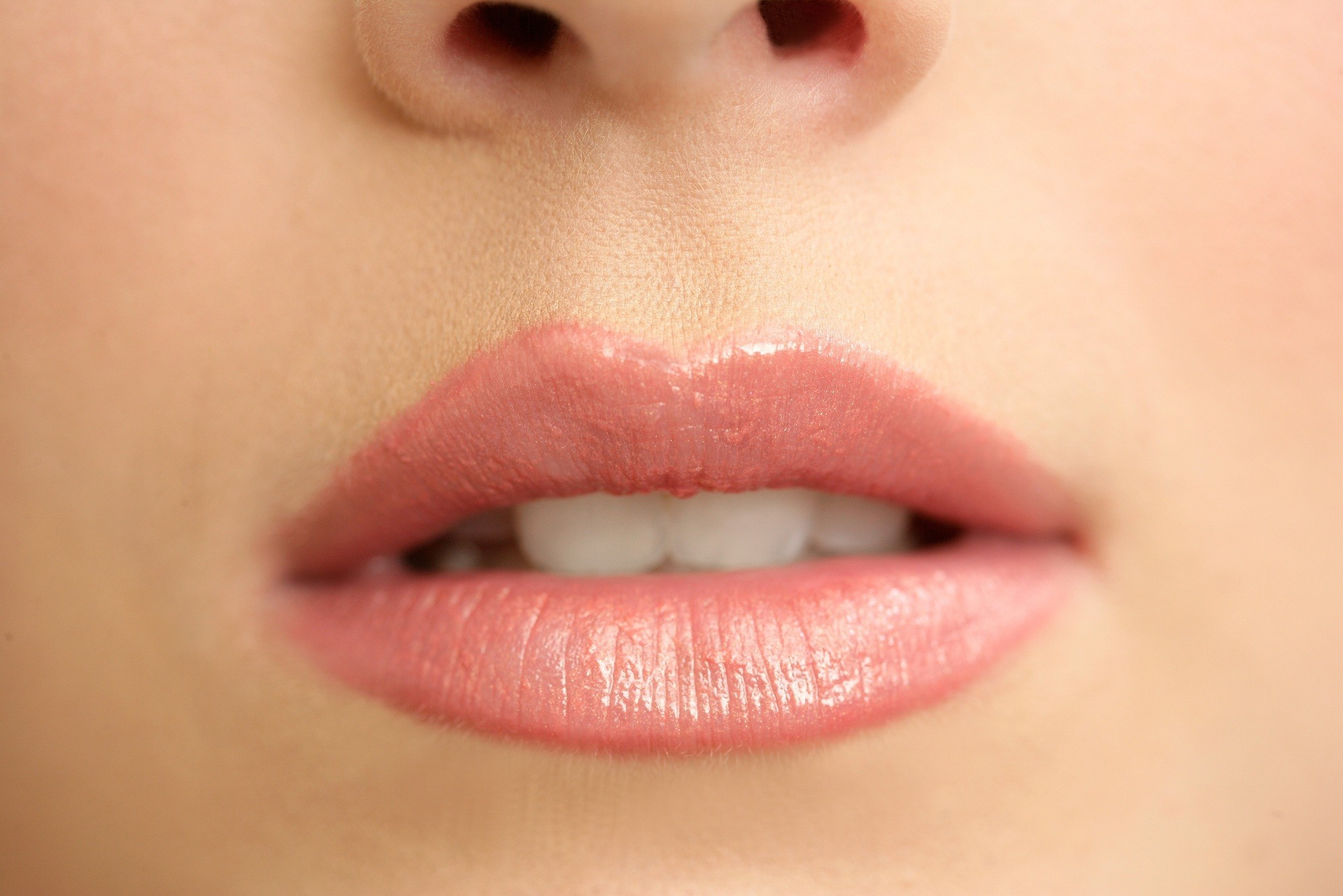 close-up lips Lacie Heart HD Wallpaper