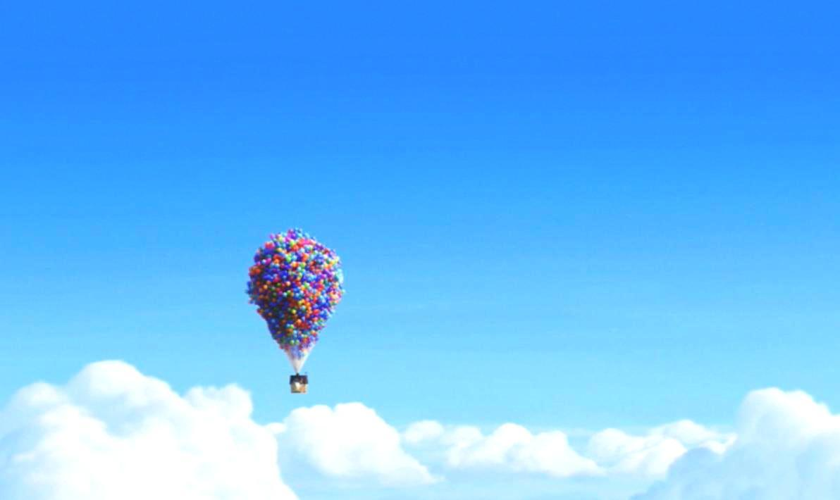clouds disney Company Up HD Wallpaper