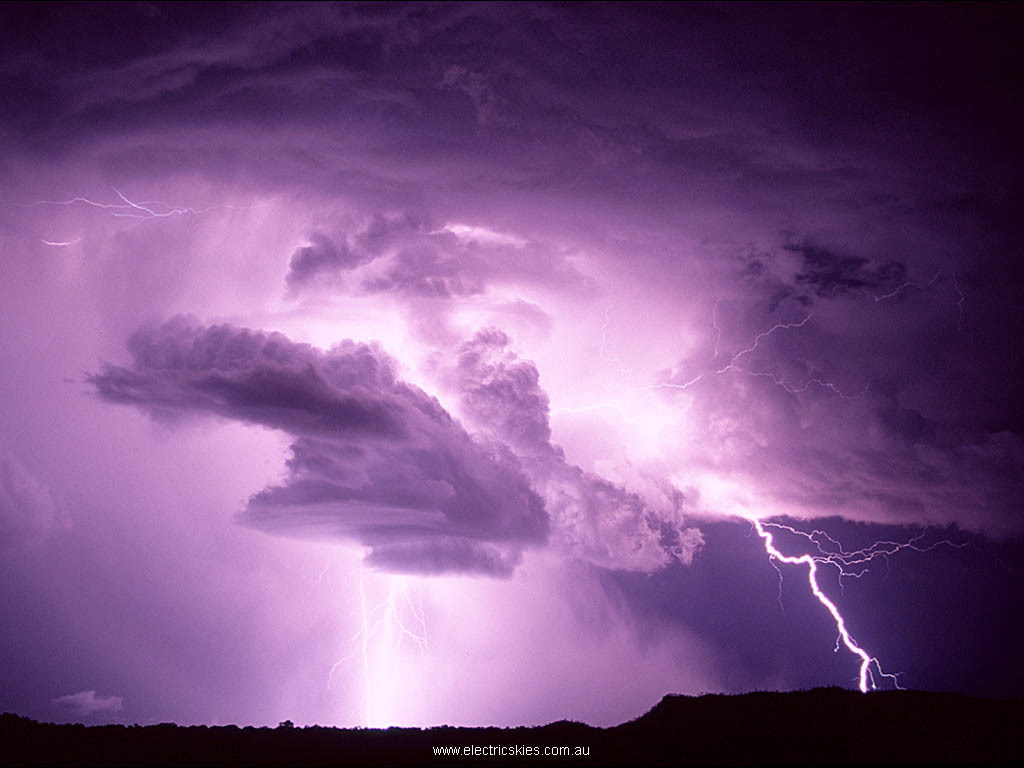 Lightning Wallpaper on Clouds Lightning Hd Wallpaper   Nature   Landscapes   503780