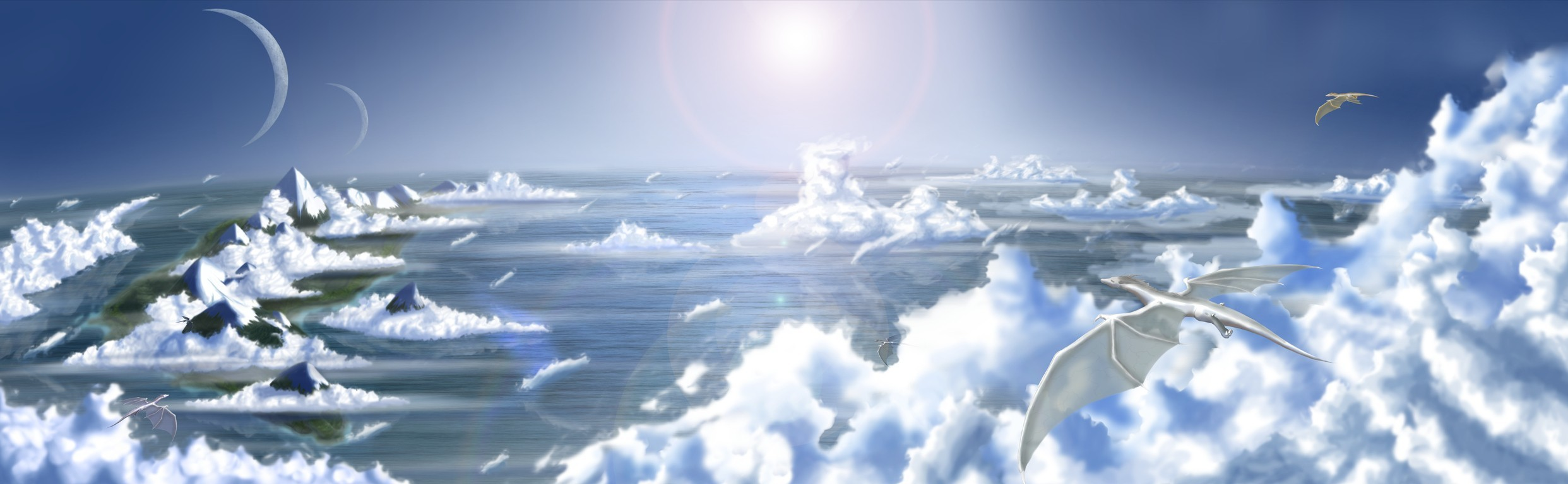 clouds Sea HD Wallpaper