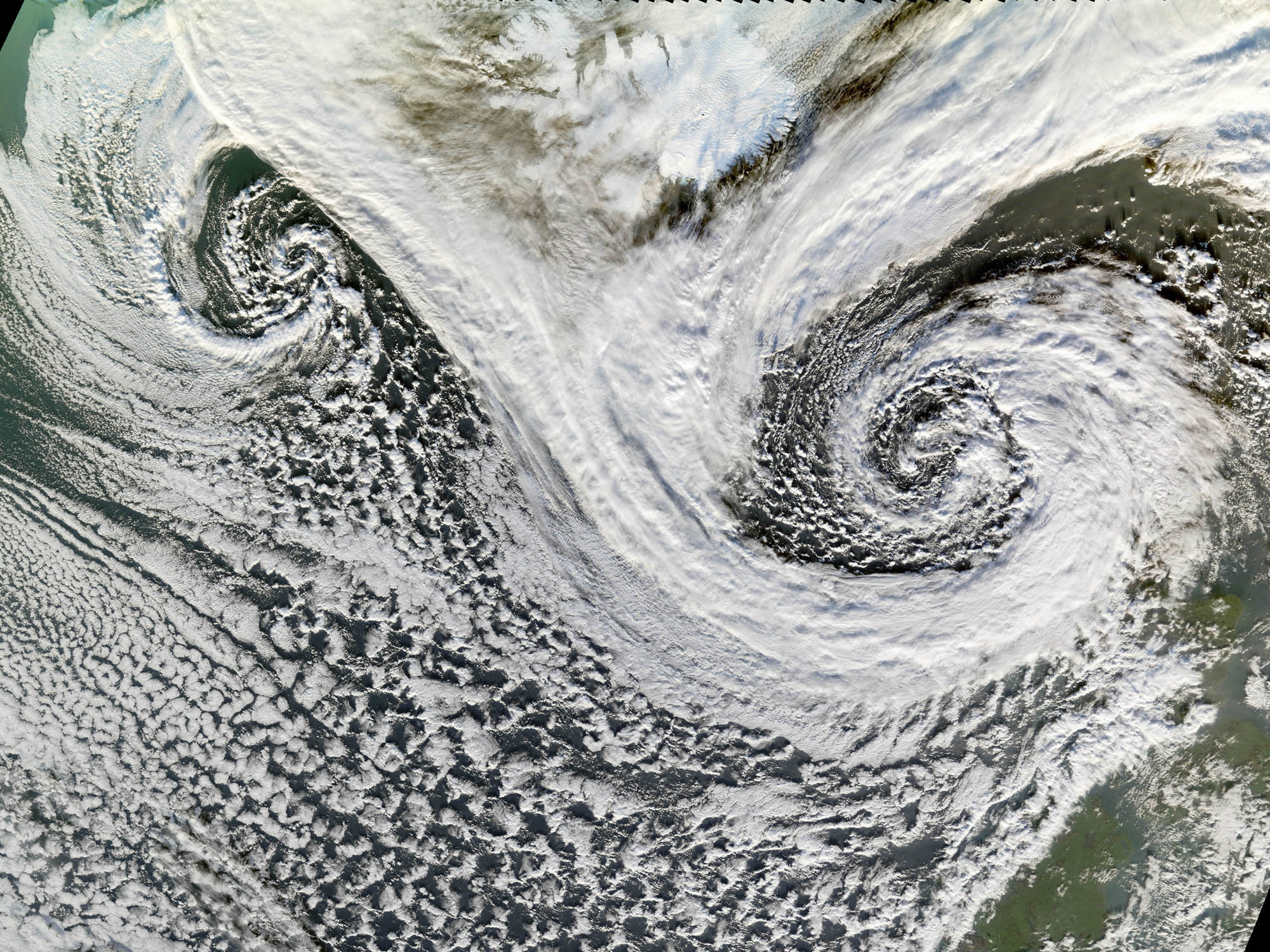 Clouds Satellite Photography Hurricane