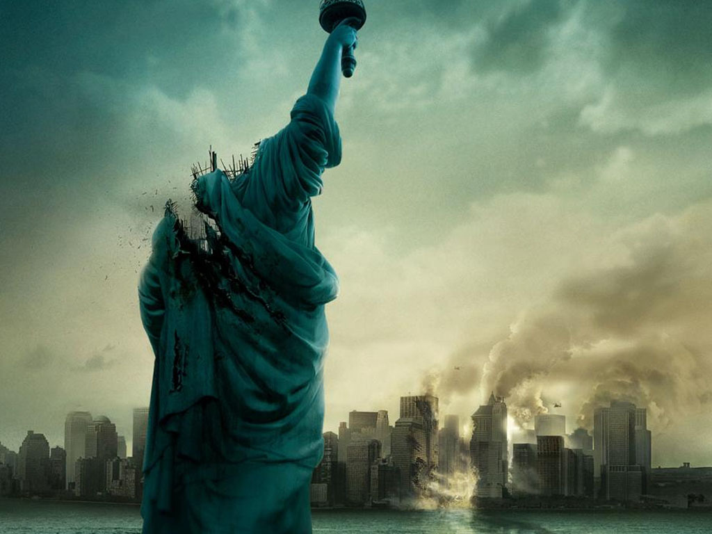Cloverfield monster Thriller film HD Wallpaper