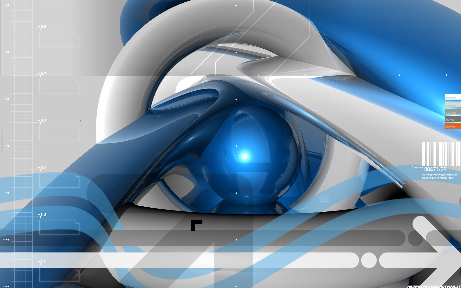 cobalt Control by neurokratos HD Wallpaper