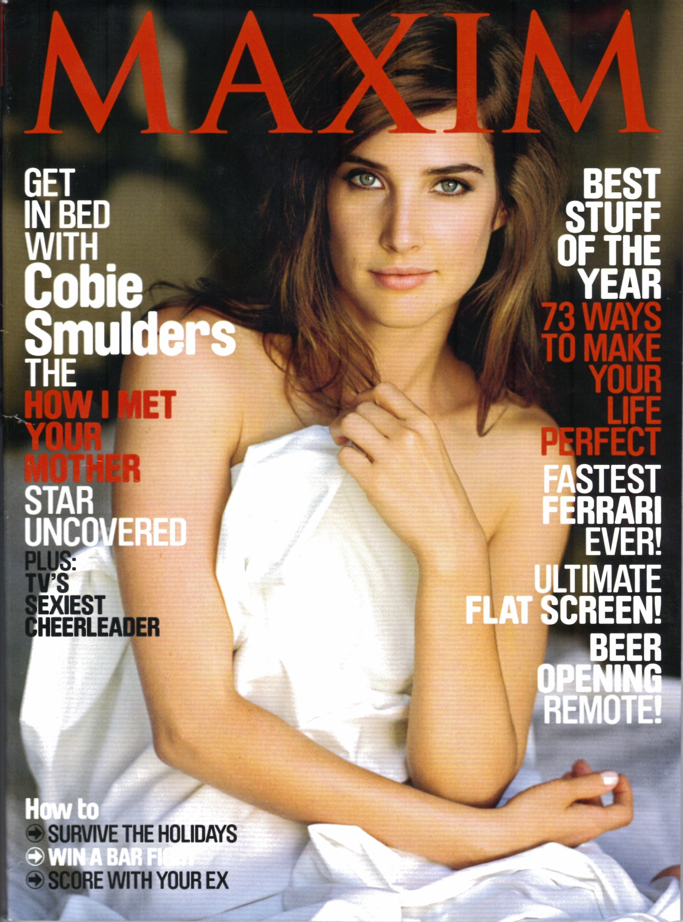 cobie smulders Maxim Magazine HD Wallpaper