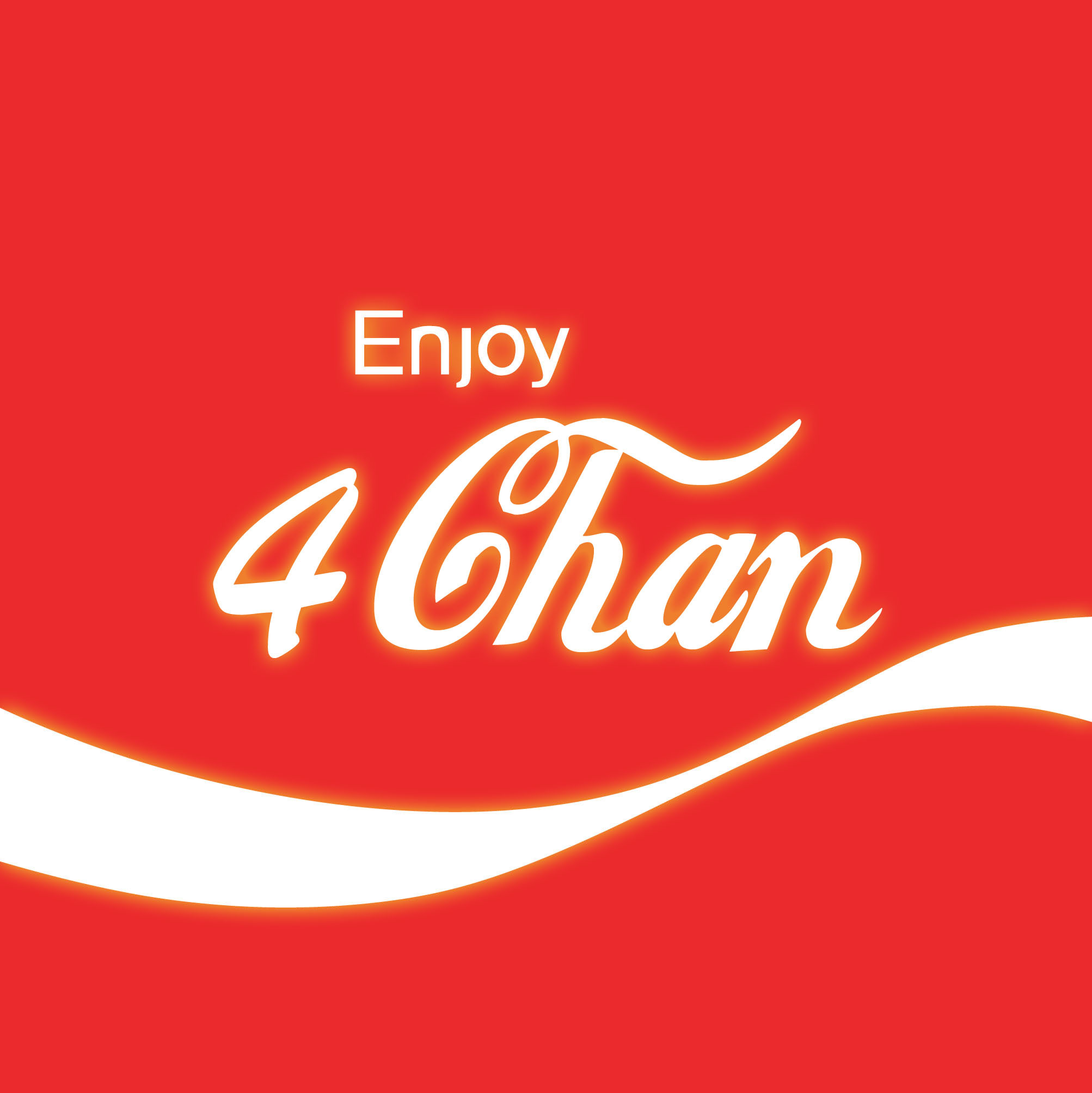 coca-cola logos enjoy 4chan HD Wallpaper