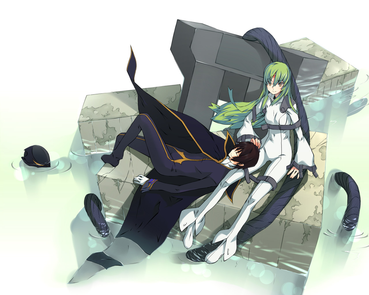 code geass artwork lamperouge HD Wallpaper