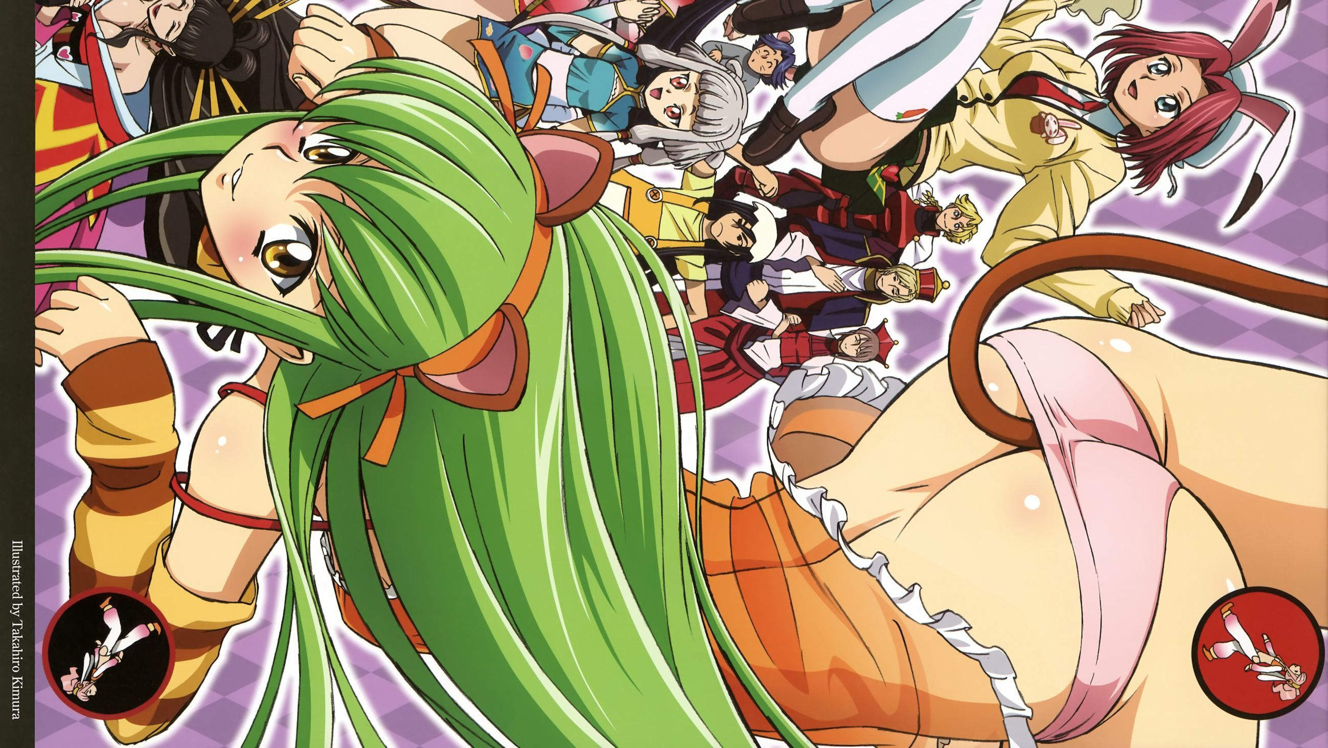 code geass ass Stadtfeld HD Wallpaper