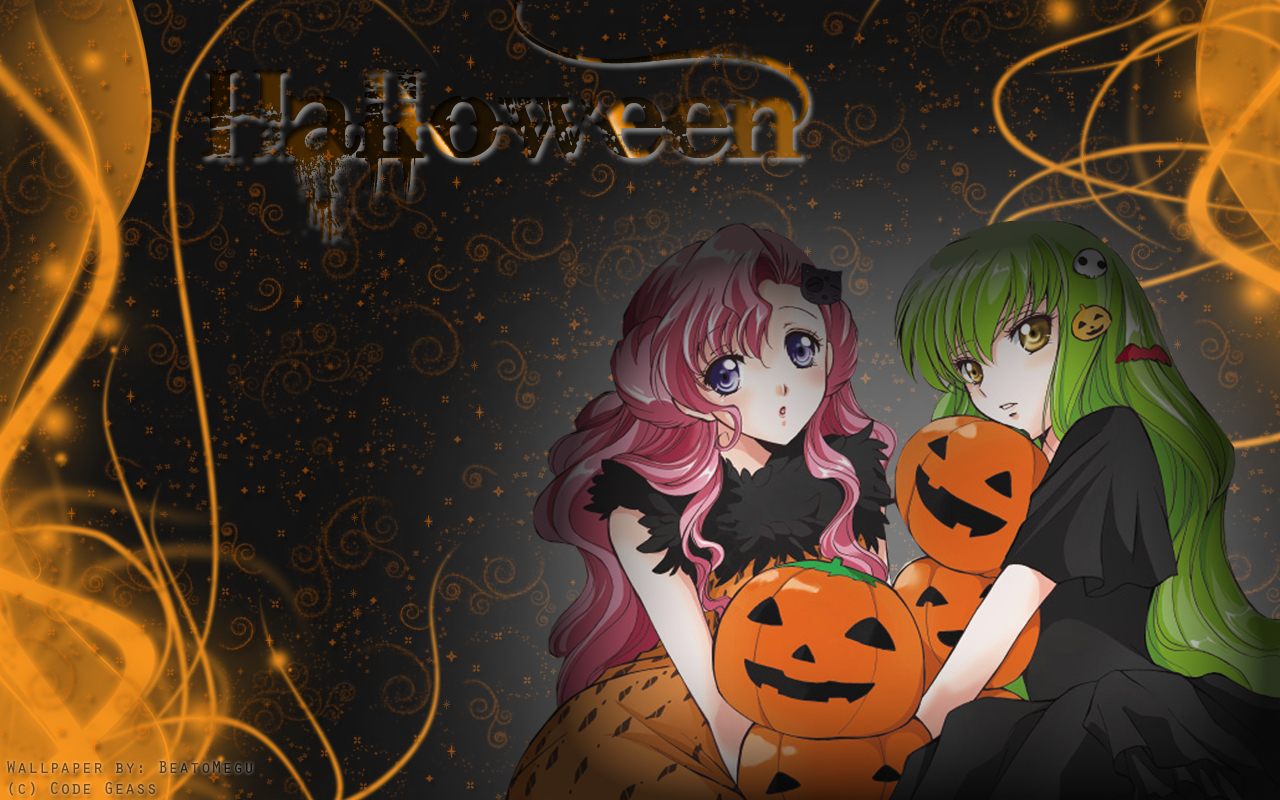 code geass Halloween euphemia HD Wallpaper