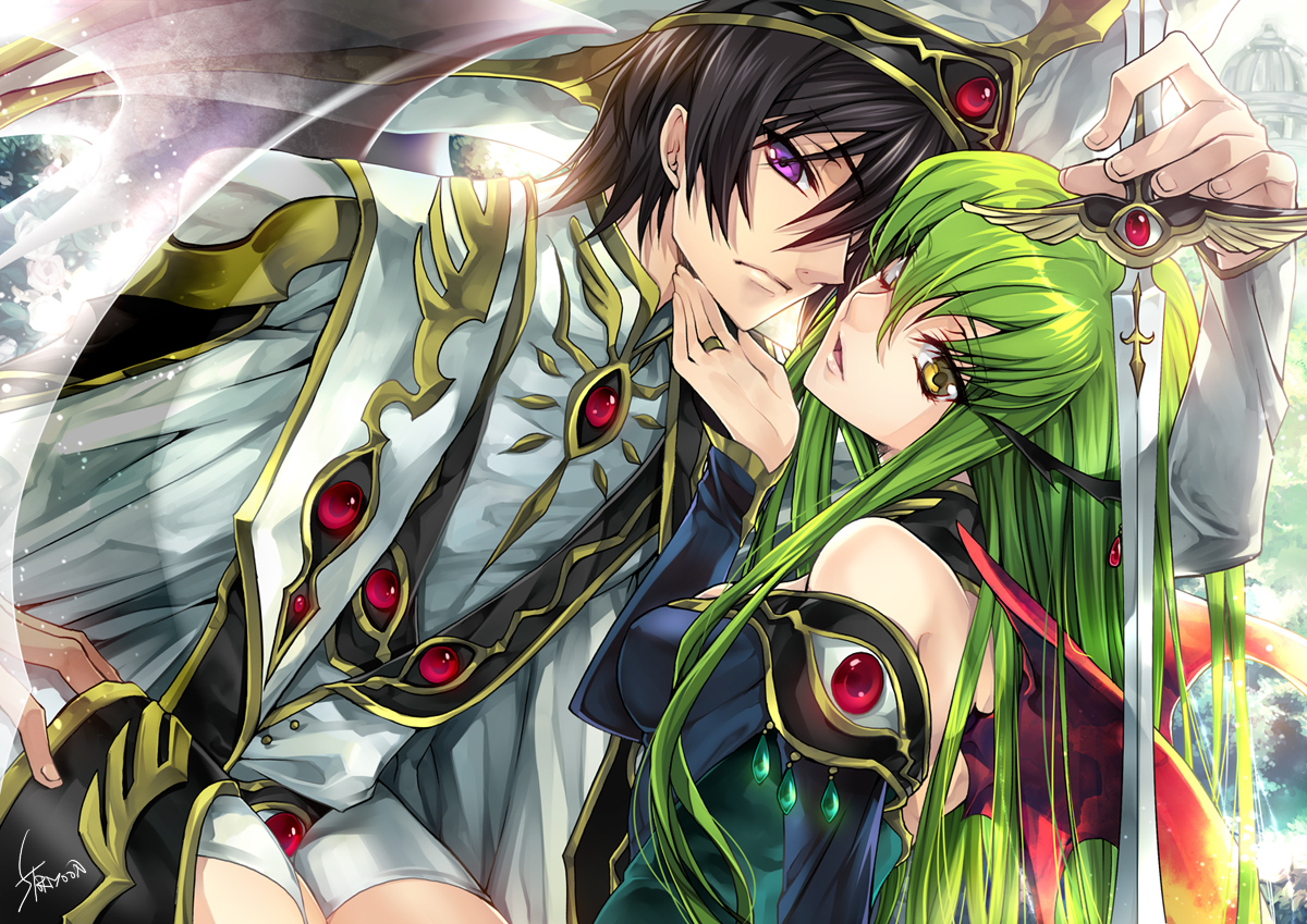 code geass lamperouge lelouch HD Wallpaper