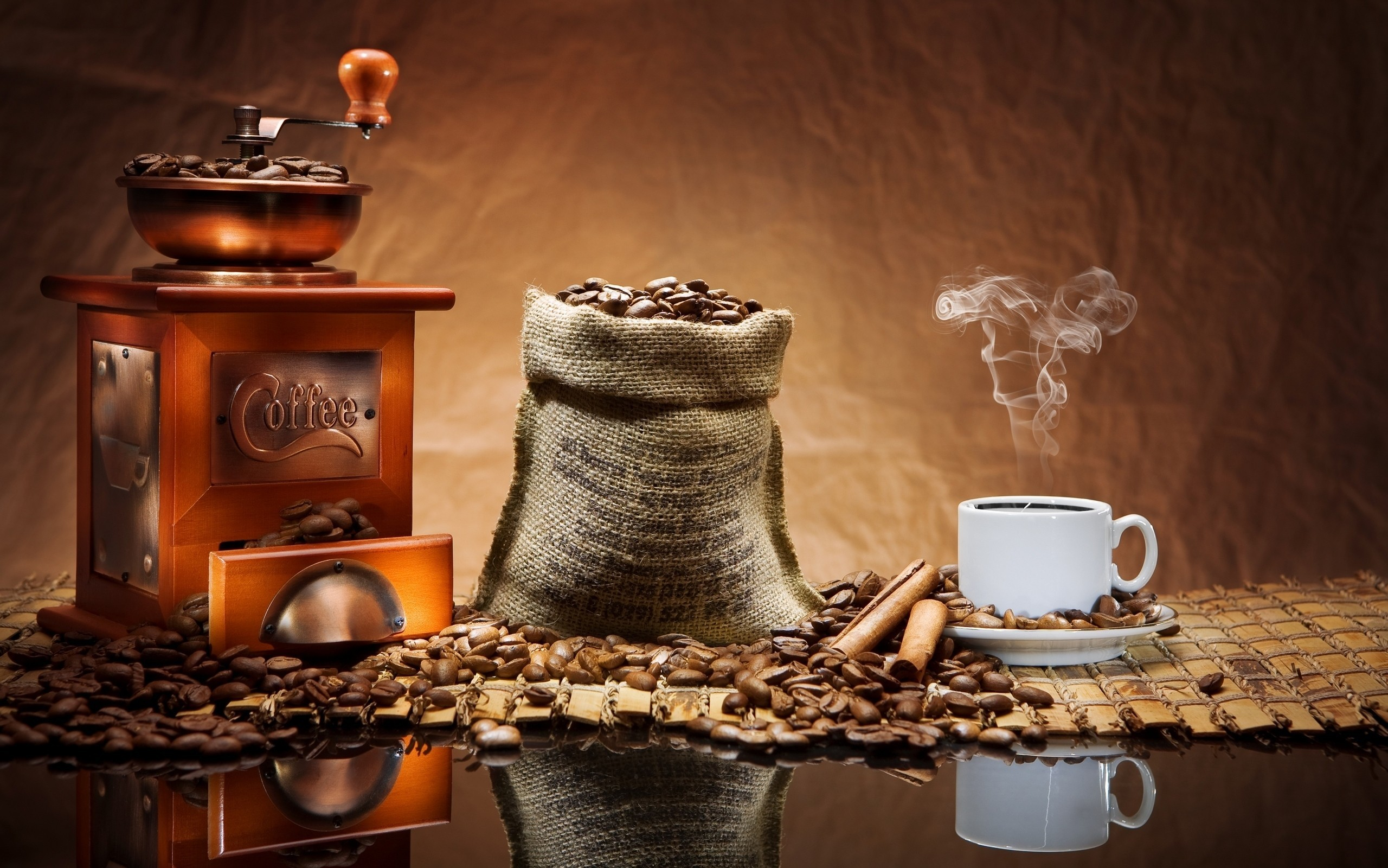 coffee Coffee Beans HD Wallpaper