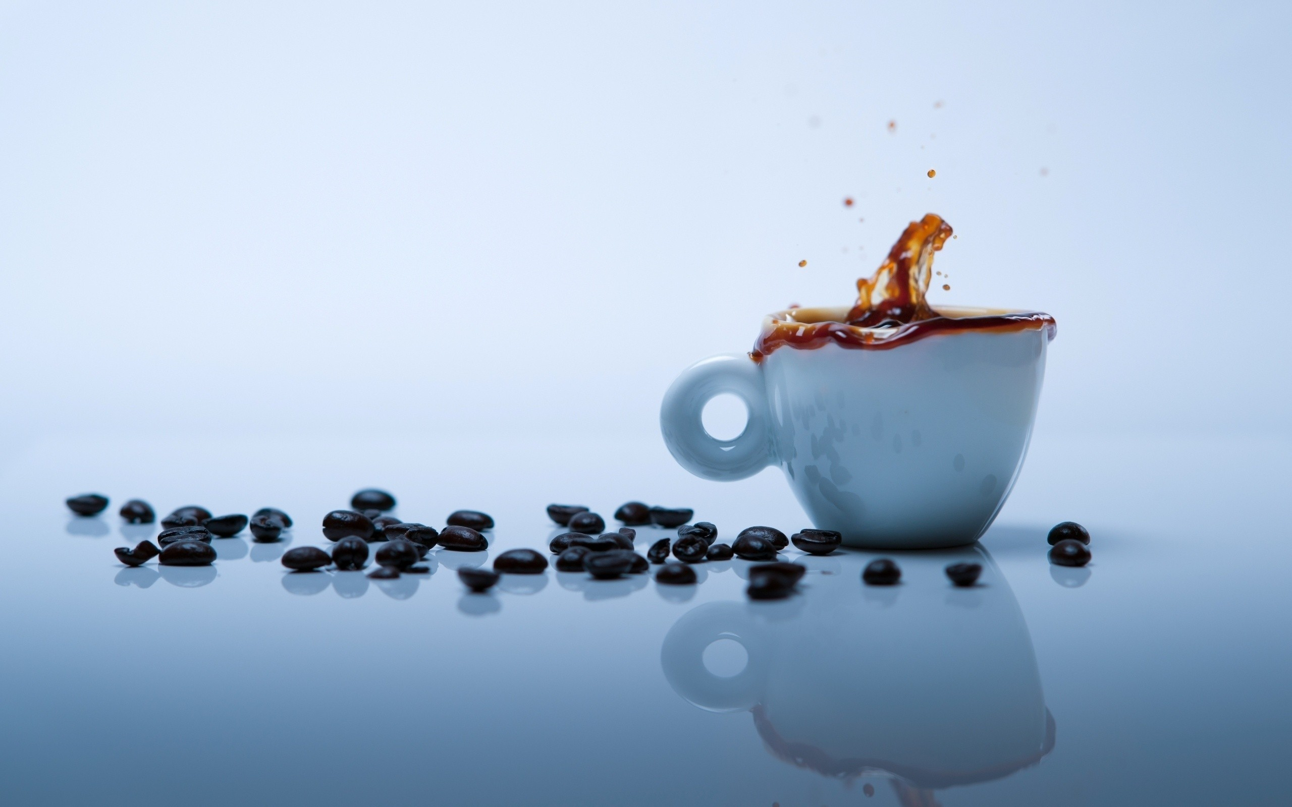 coffee grain coffee cups HD Wallpaper