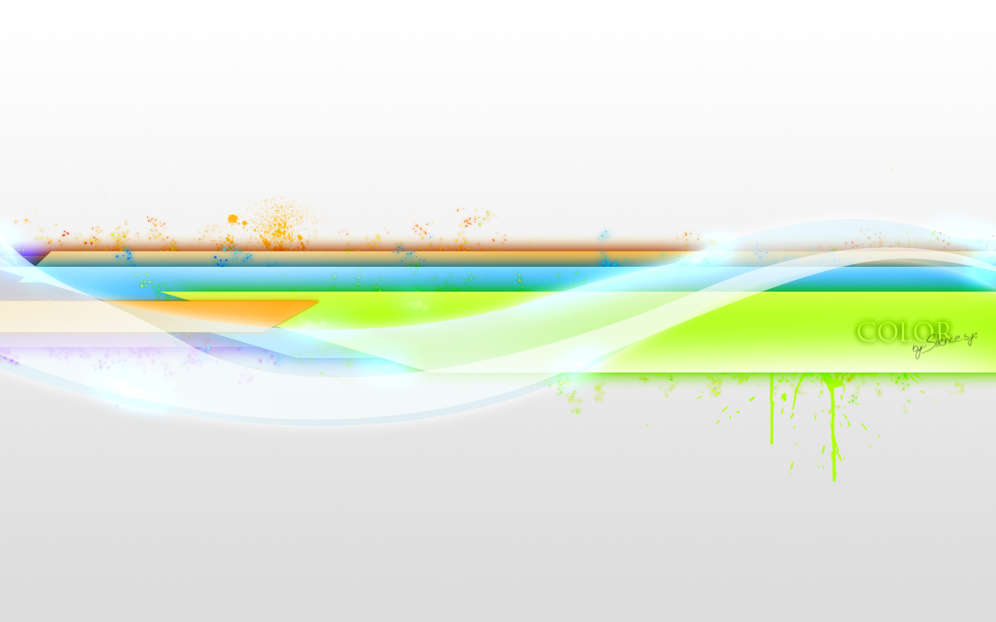 color abstract colorful HD Wallpaper