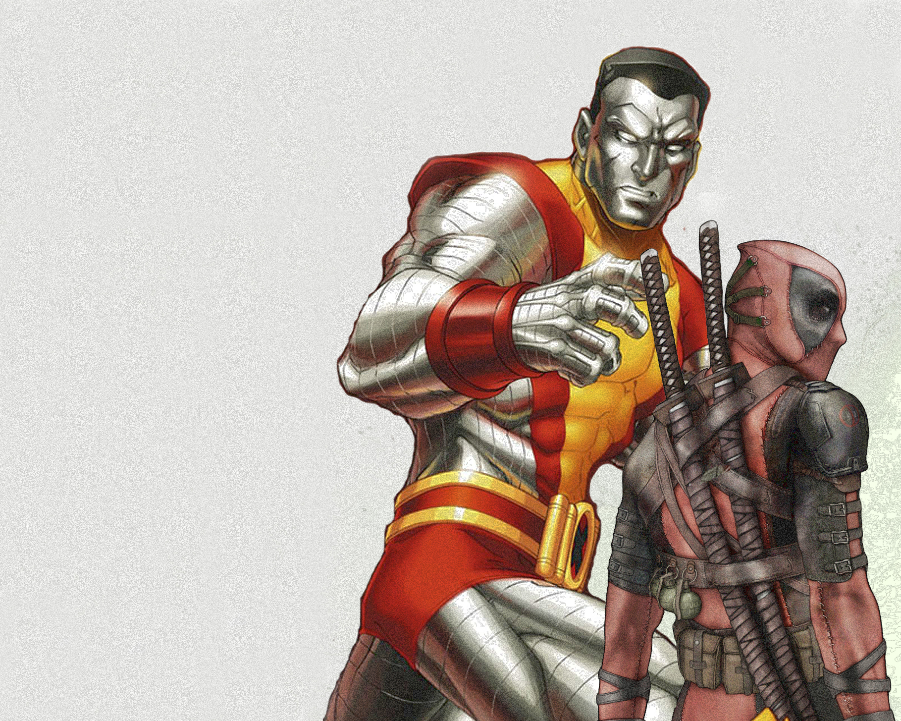 colossus amp deadpool duping HD Wallpaper