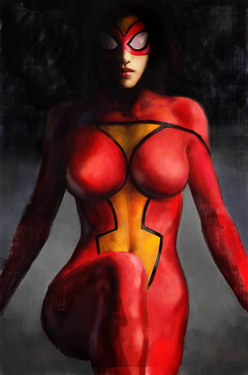 comics marvel comics Spider-woman HD Wallpaper