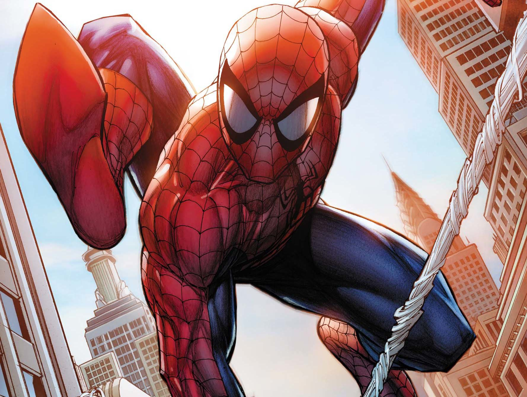 comics Spider-Man HD Wallpaper