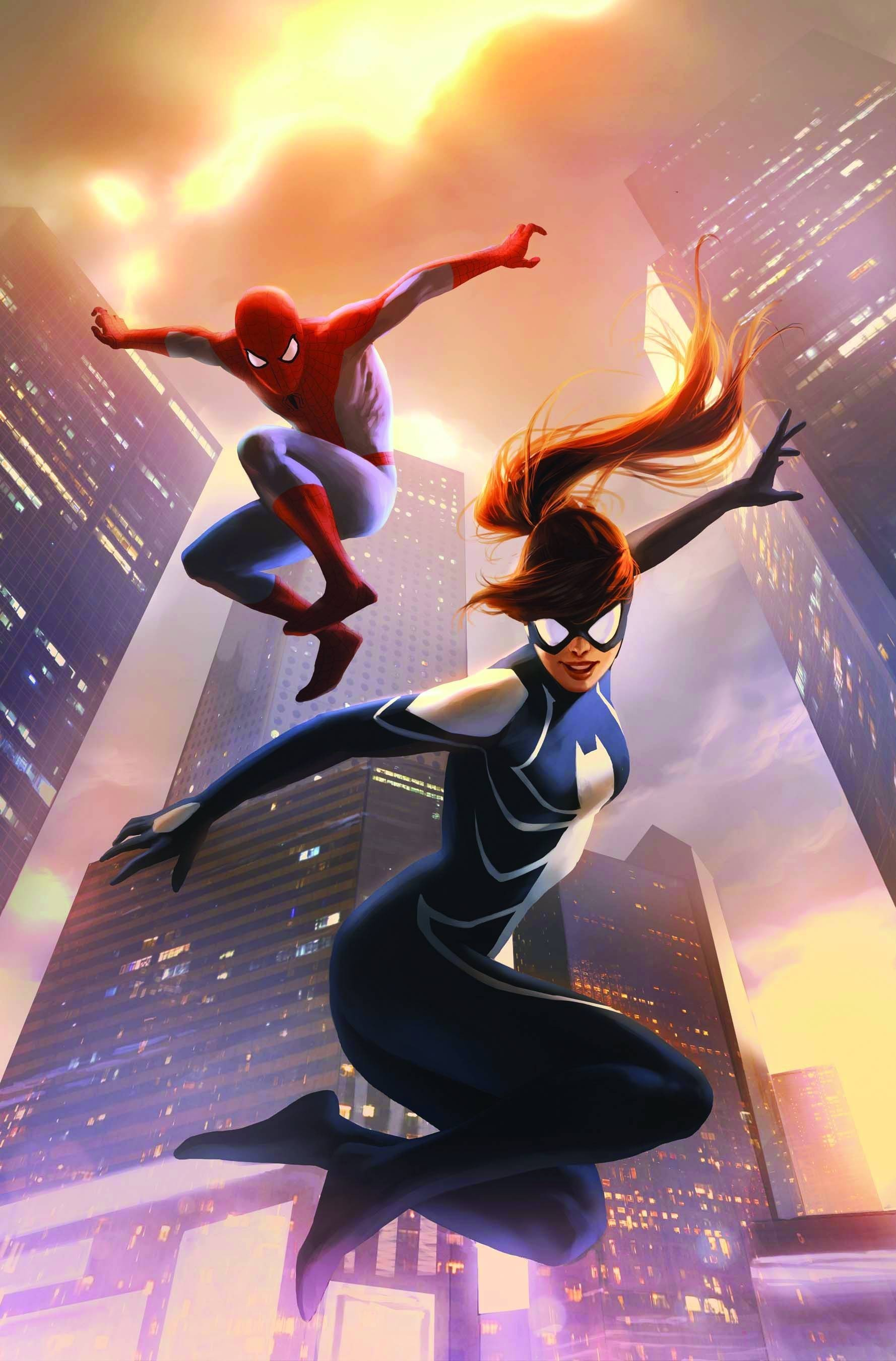 comics Spider-Man artwork marvel HD Wallpaper