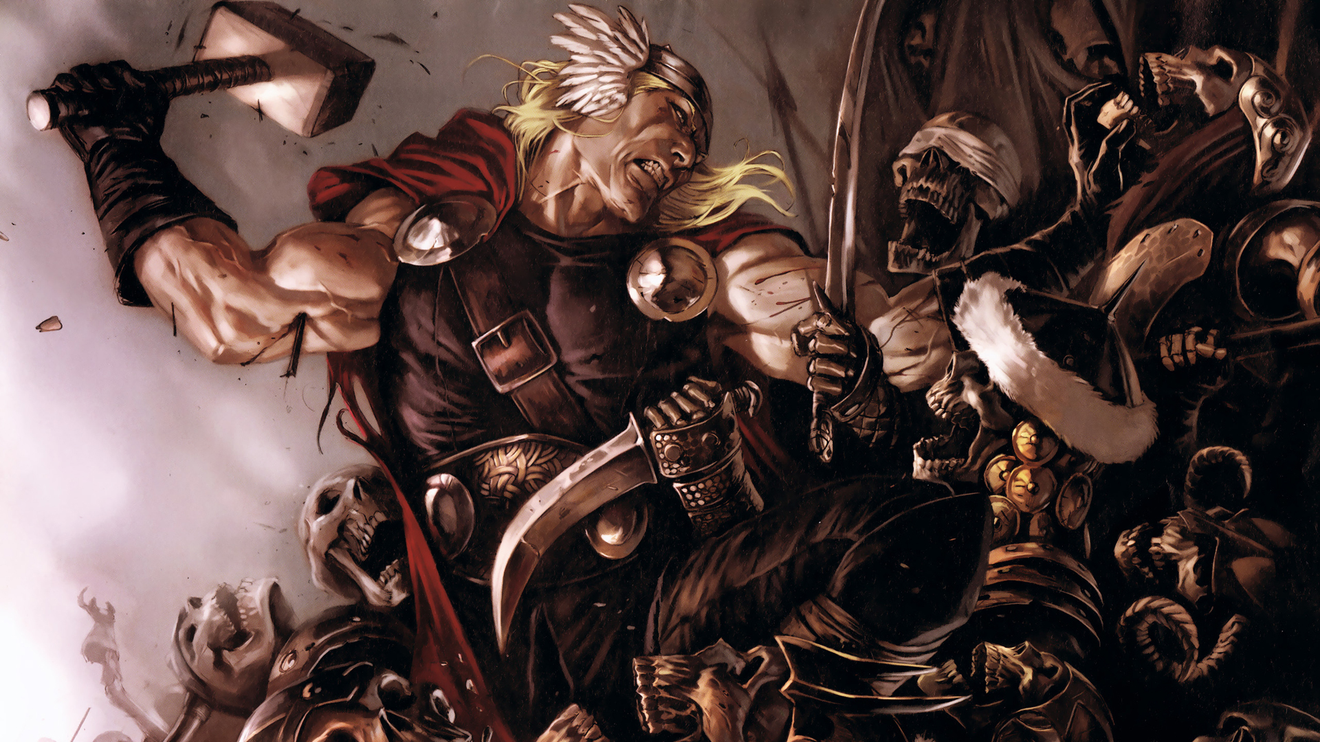 comics thor artwork marvel