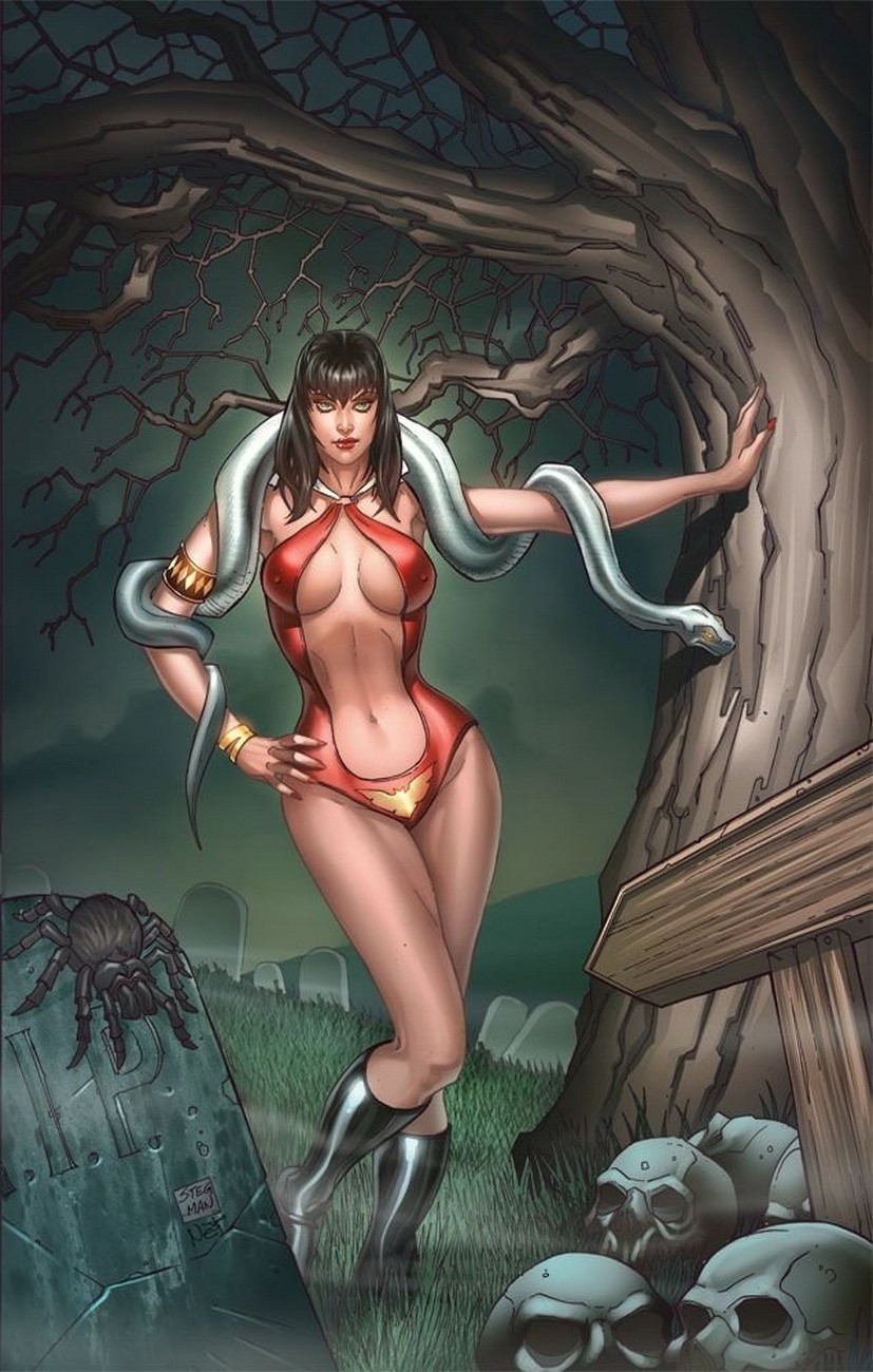 comics Vampirella HD Wallpaper