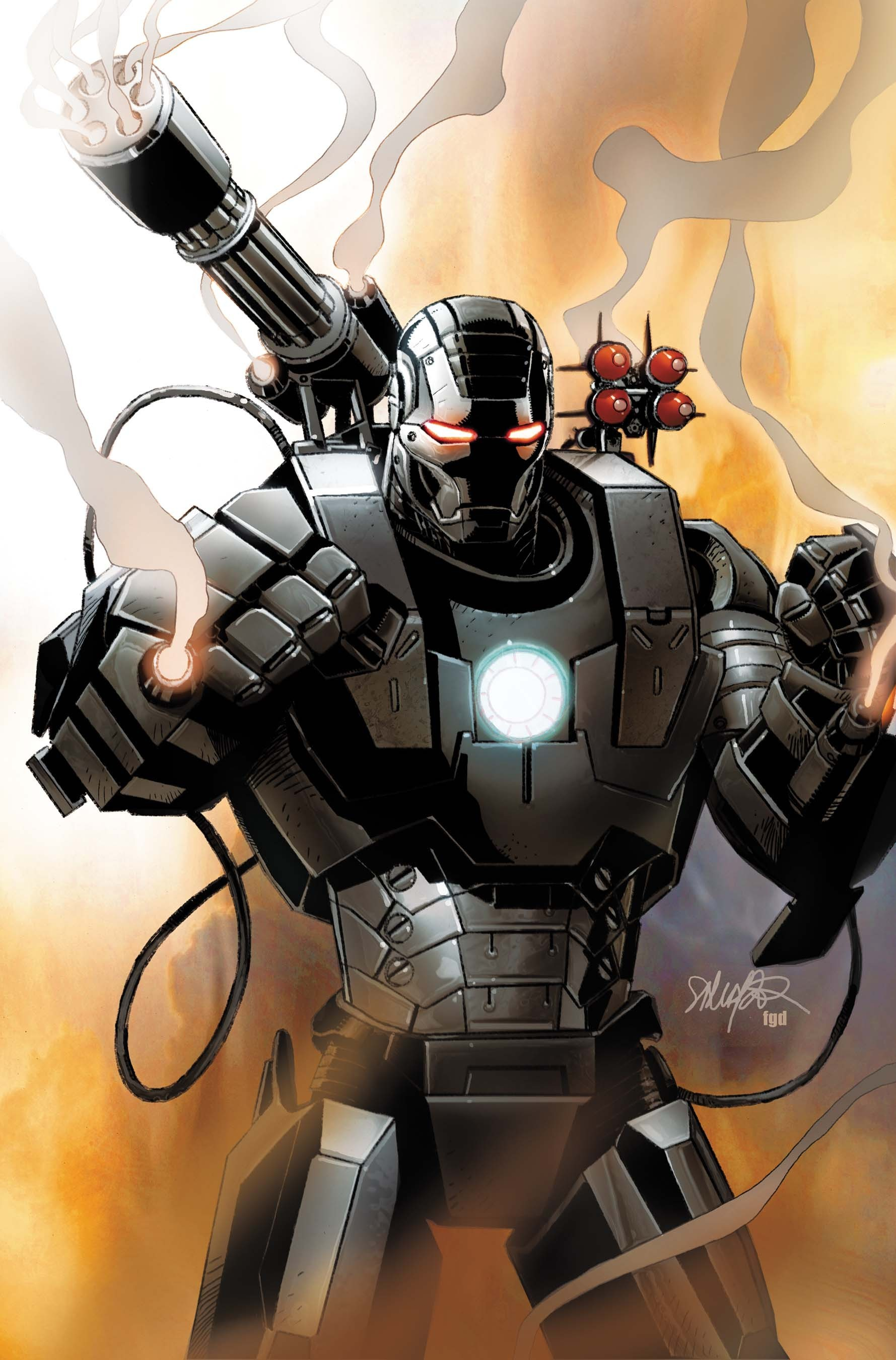 comics War Machine artwork HD Wallpaper