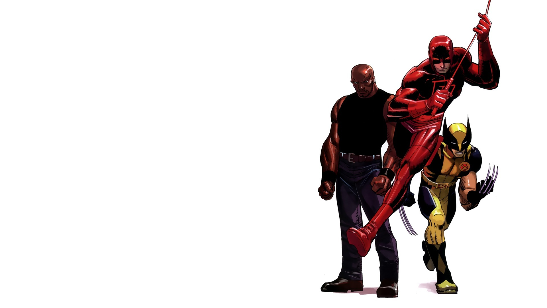 comics wolverine daredevil marvel HD Wallpaper