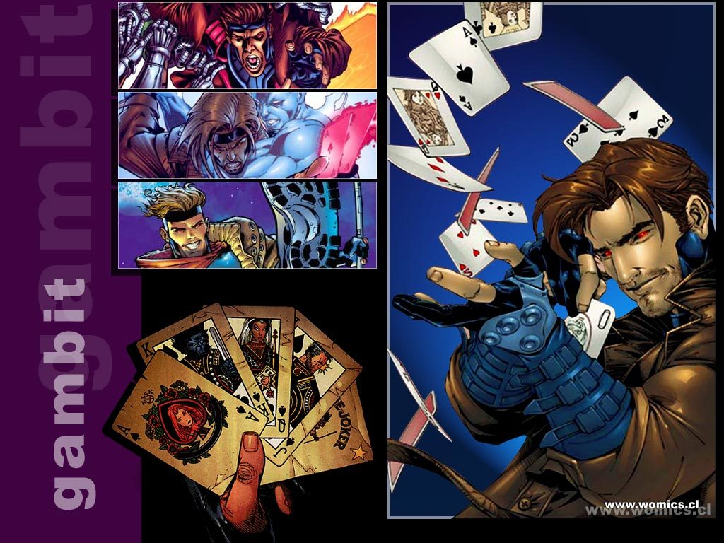 comics X-Men gambit Cards HD Wallpaper