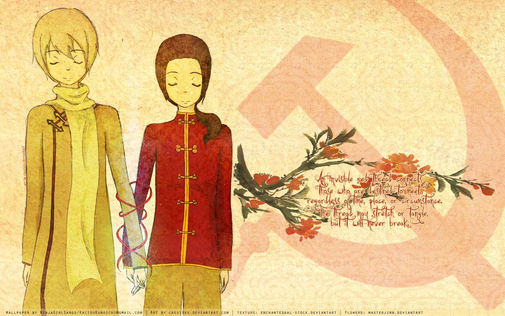 communism China Russia Anime HD Wallpaper