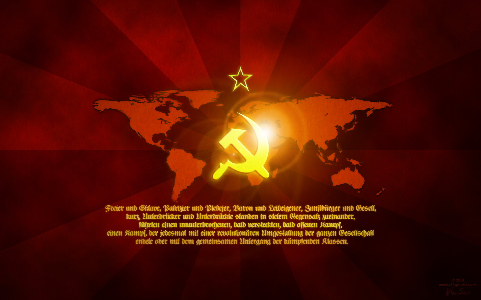 Communist red wp well HD Wallpaper