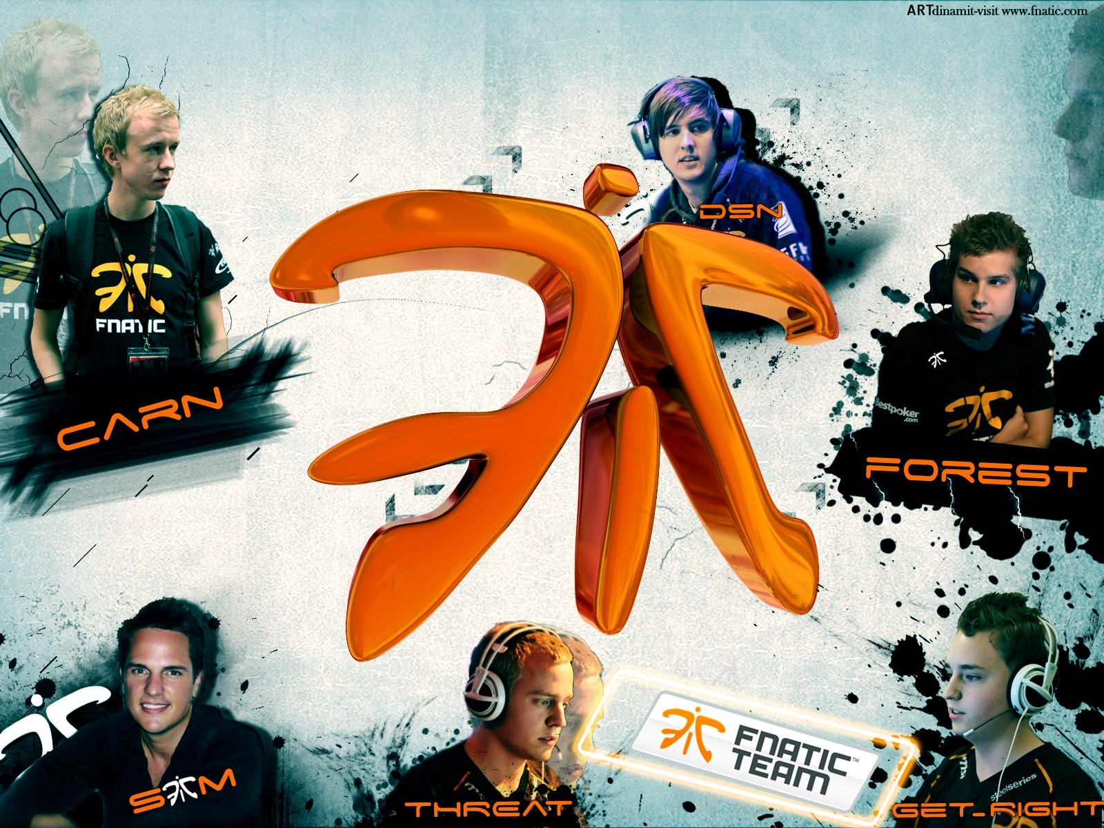 Company Team logos fnatic