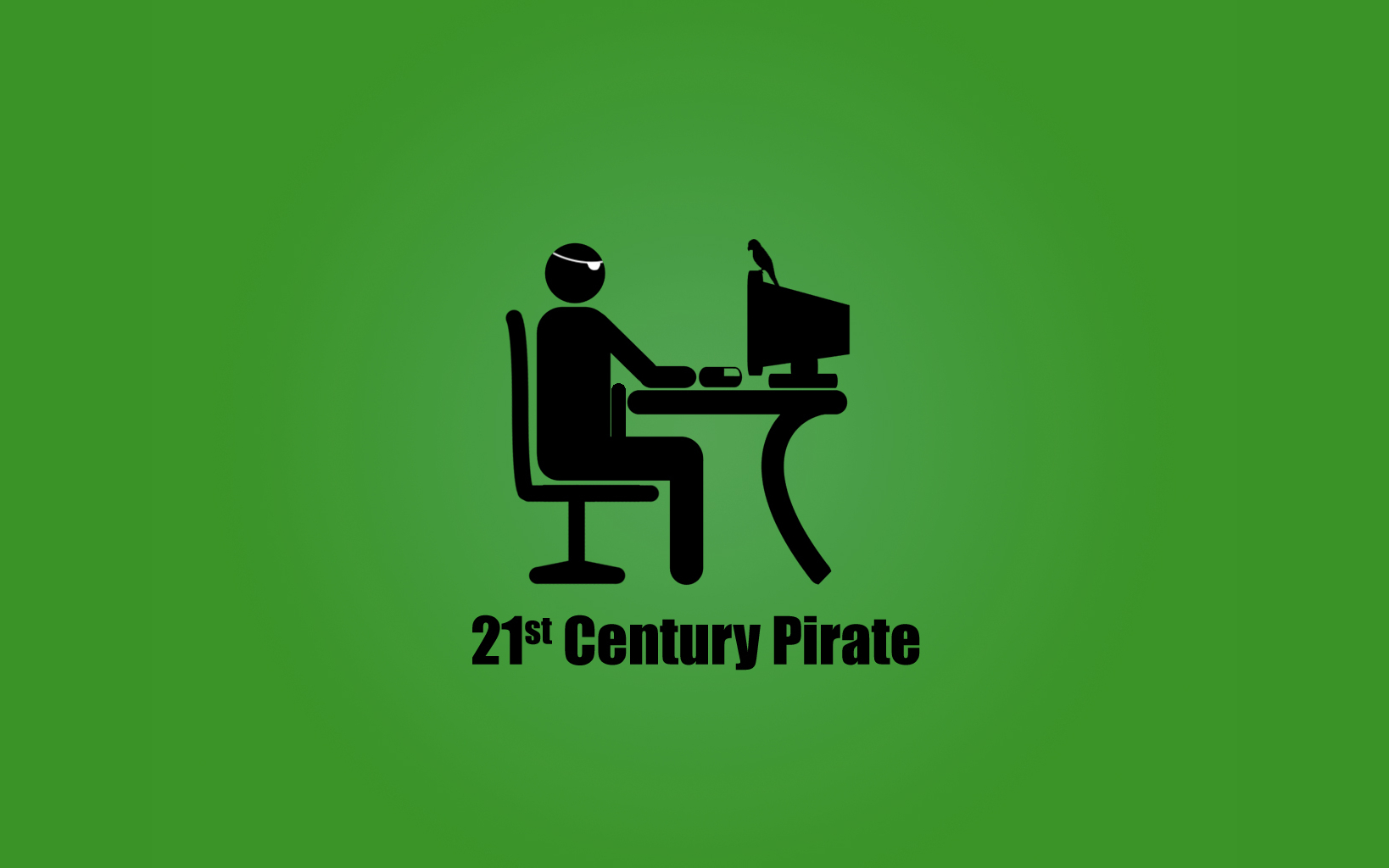 Computers Internet pirates computer HD Wallpaper