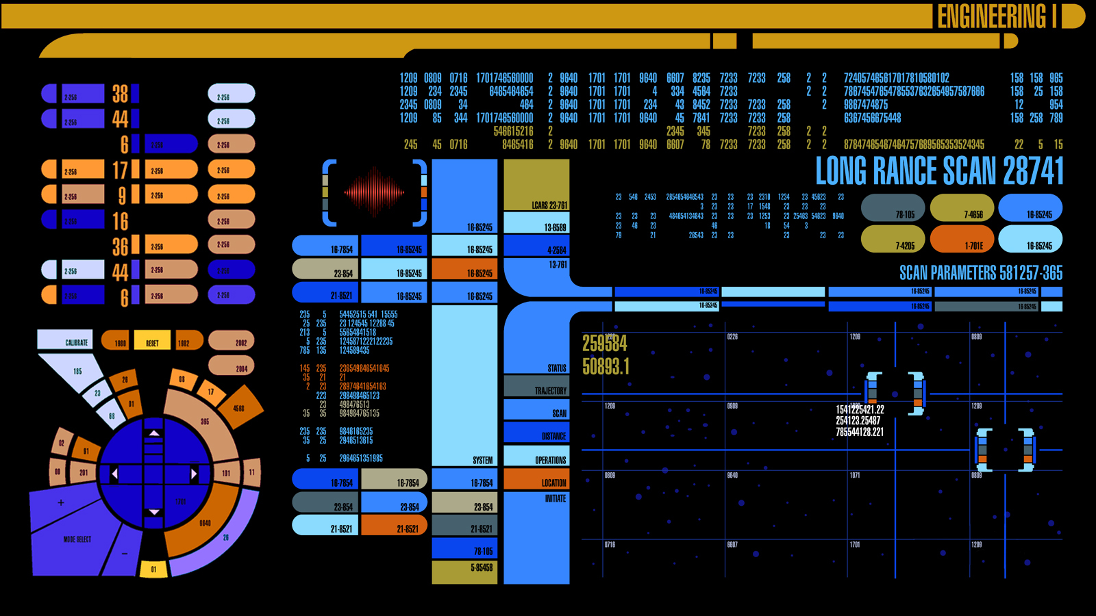 Computers Star Trek spaceships HD Wallpaper