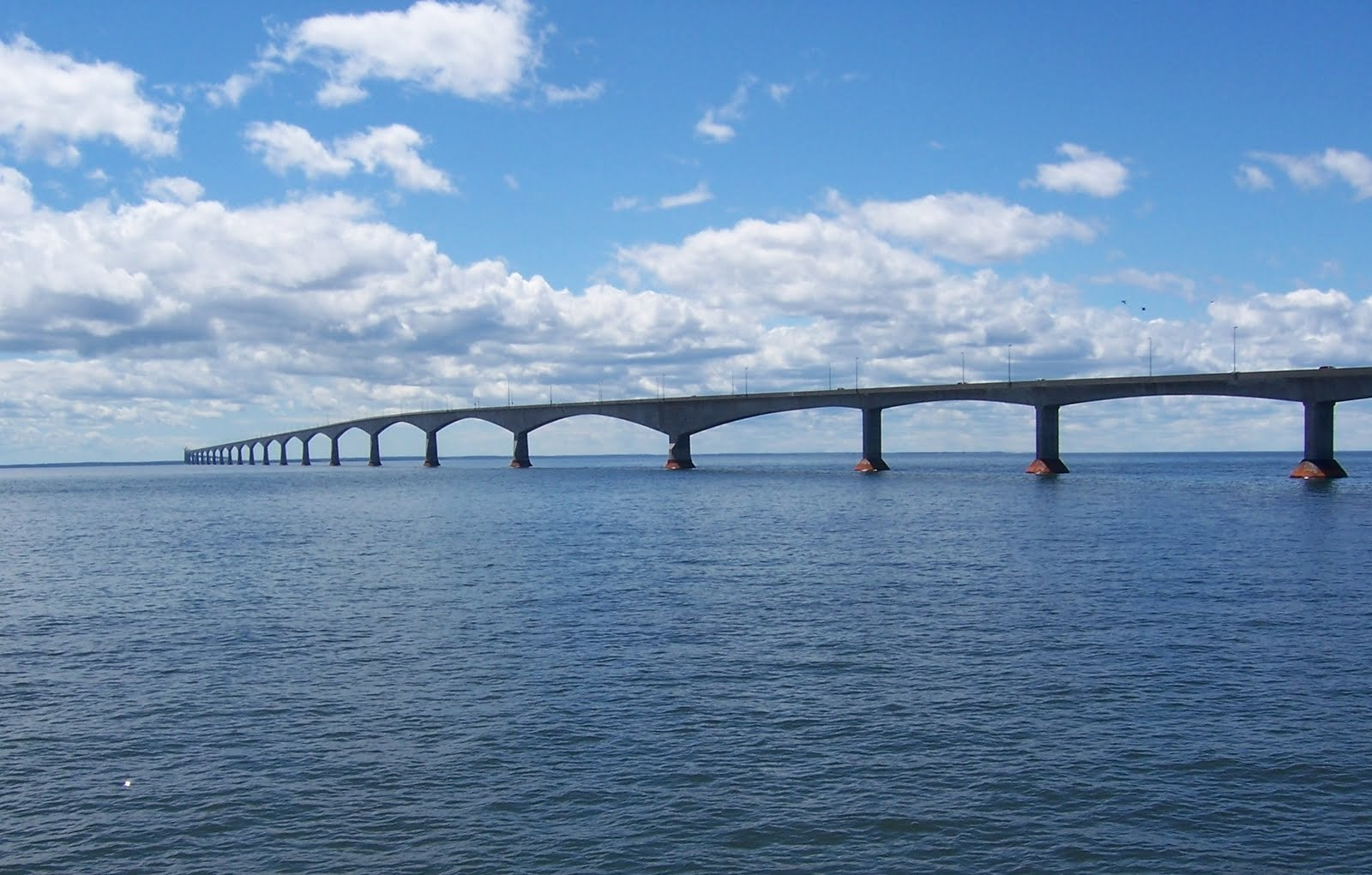 confederation Bridge pei oups HD Wallpaper
