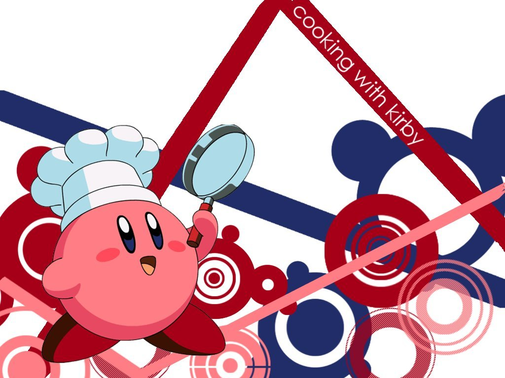 cooking ) With kirby