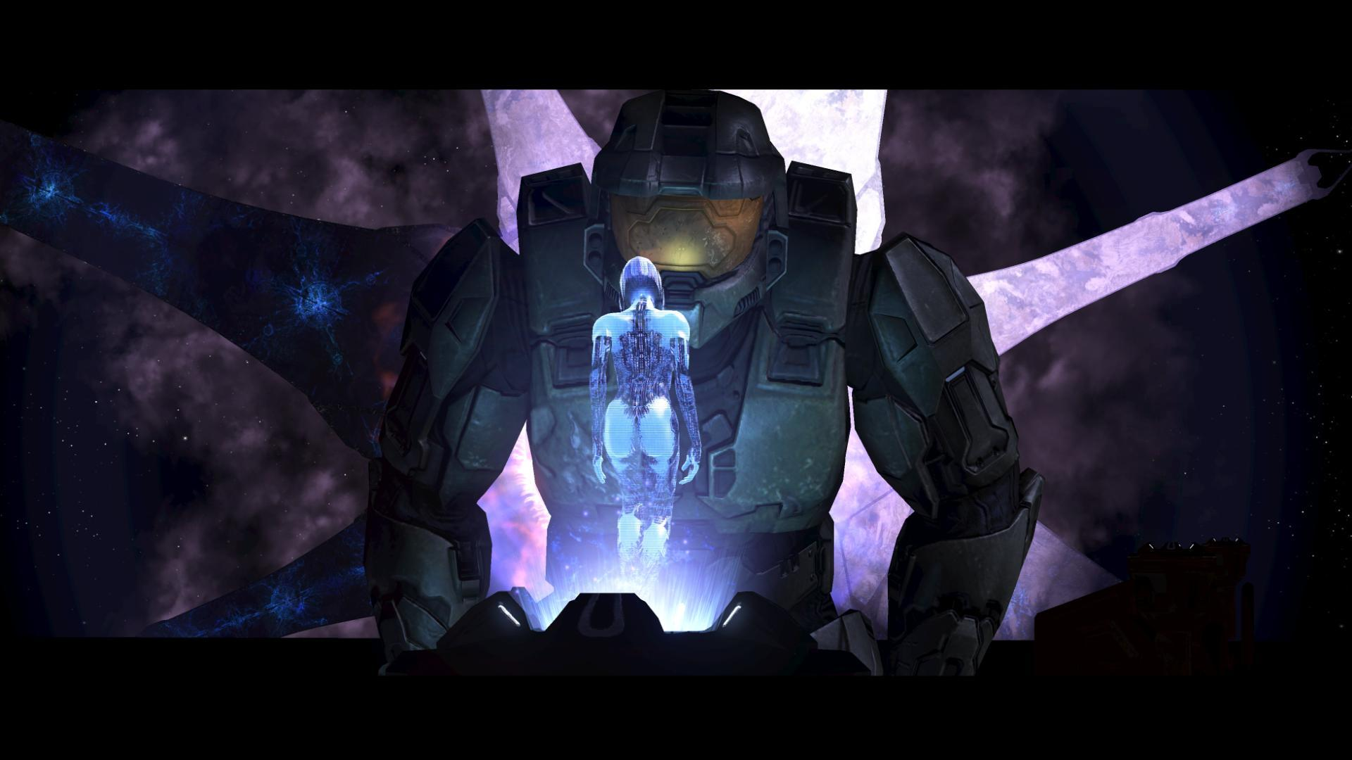 Cortana halo master chief
