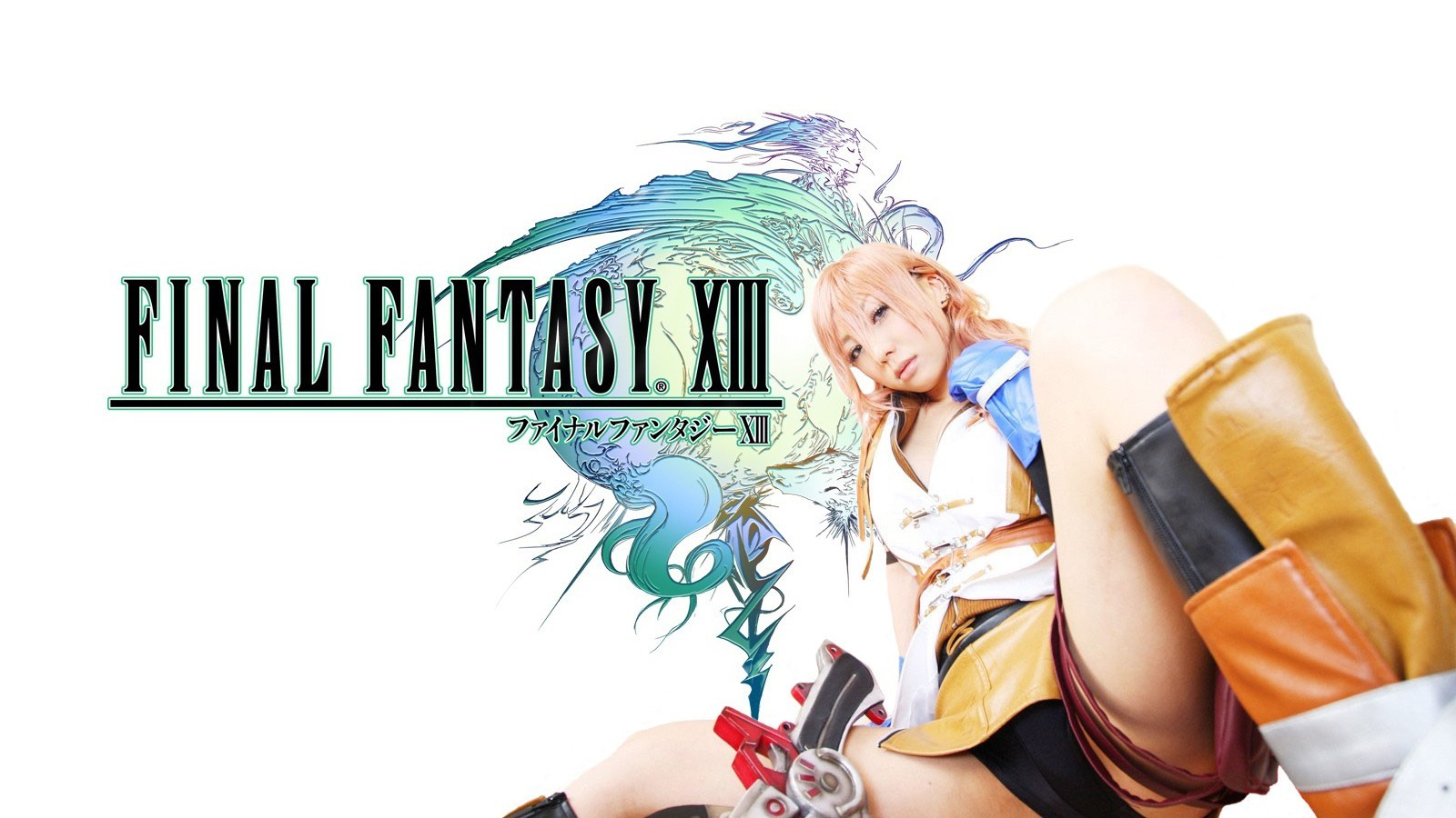 cosplay final fantasy xiii HD Wallpaper