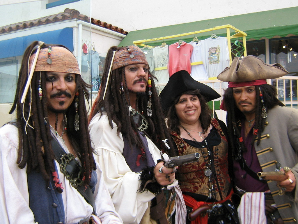 cosplay Jack sparrow pirates HD Wallpaper