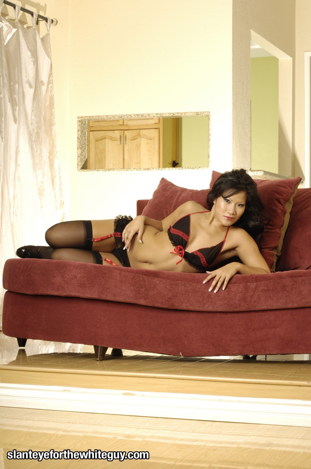 couch pornstars asians Asa HD Wallpaper