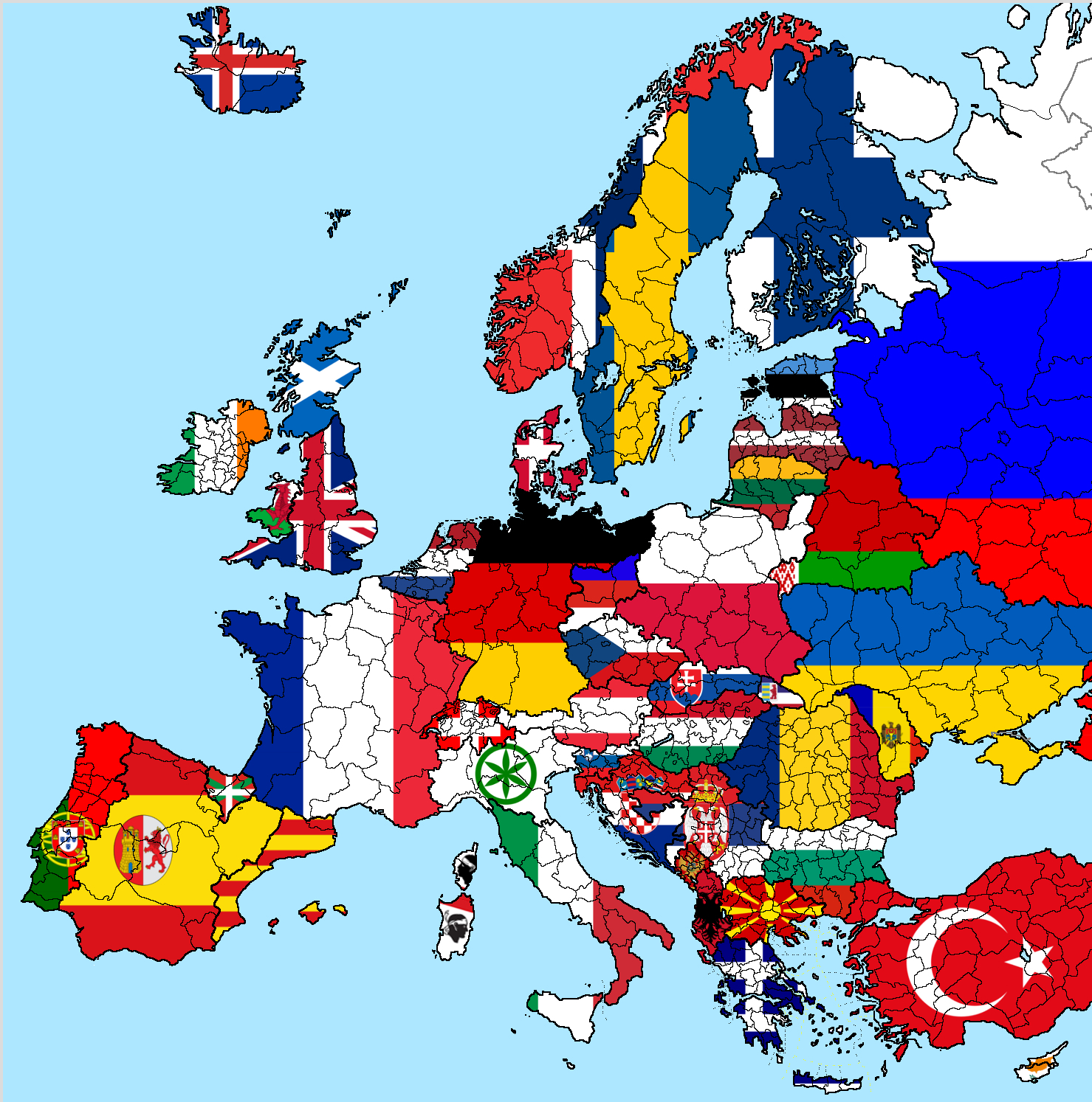 country Flags Europe Maps HD Wallpaper