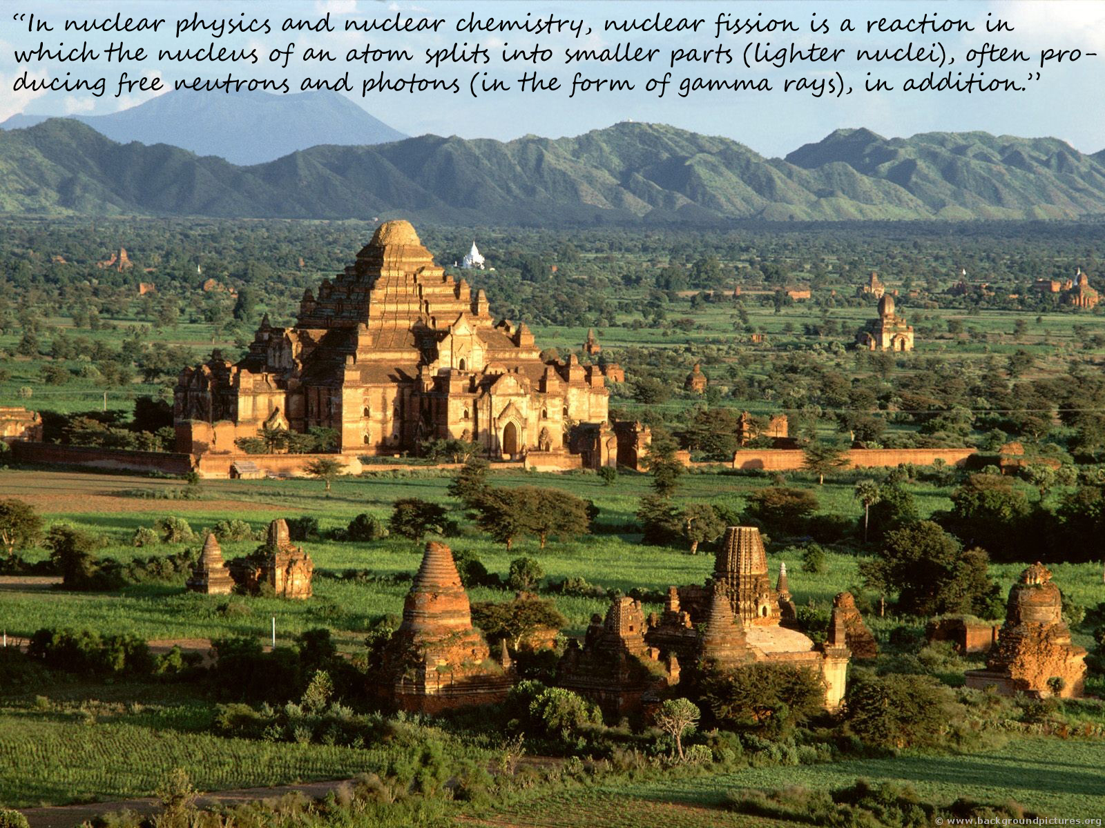 countryside pagoda bagan Myanmar HD Wallpaper