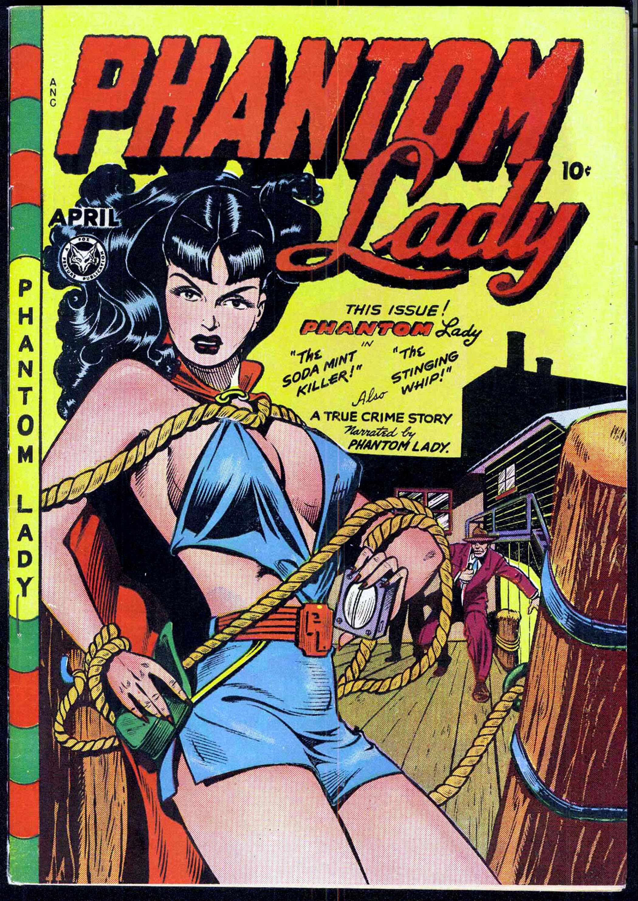 Cover phantom lady by HD Wallpaper