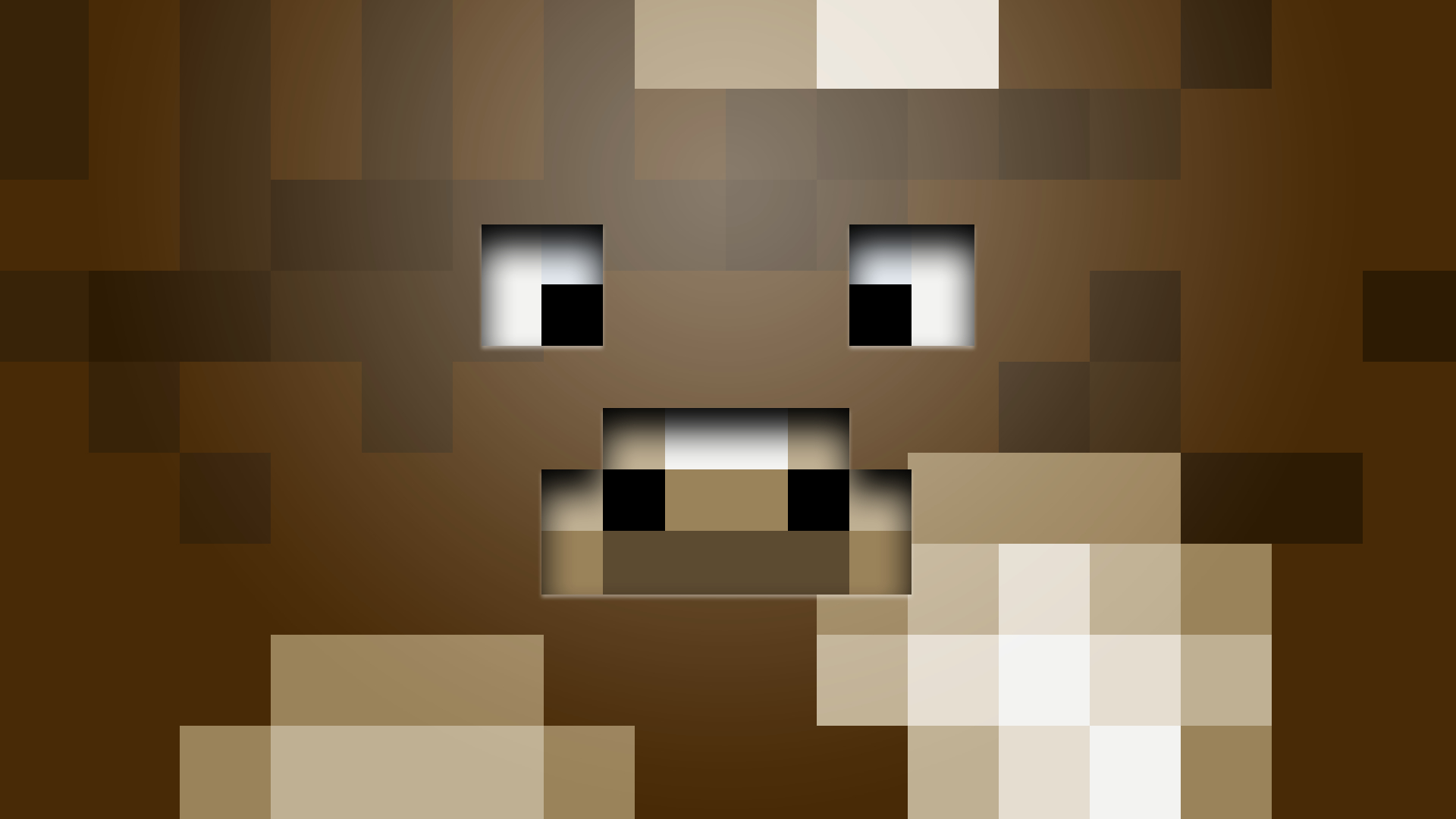 Cows minecraft faces game HD Wallpaper