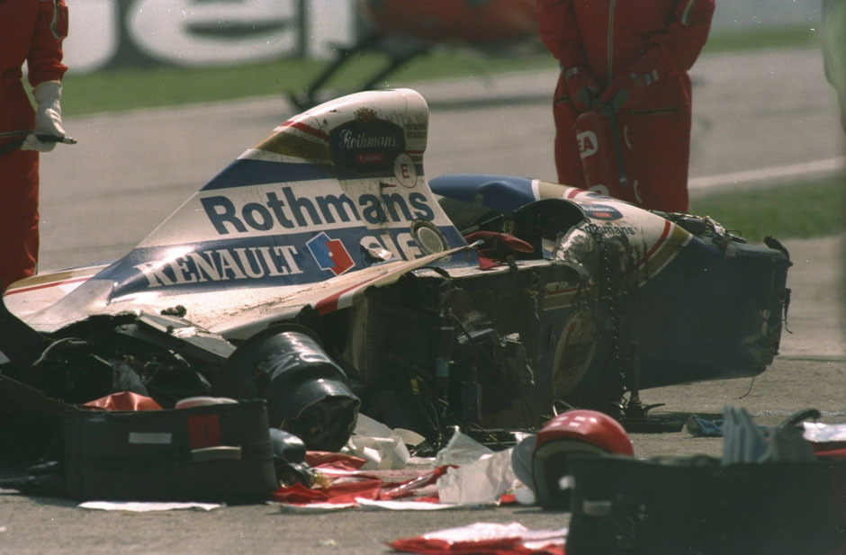 Crash formula one Ayrton HD Wallpaper