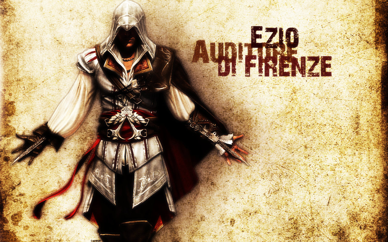 creed brotherhood Ezio assassins HD Wallpaper