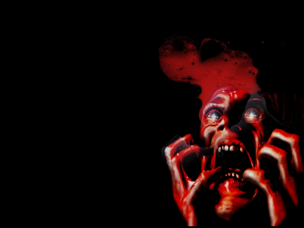Creep scary red face HD Wallpaper