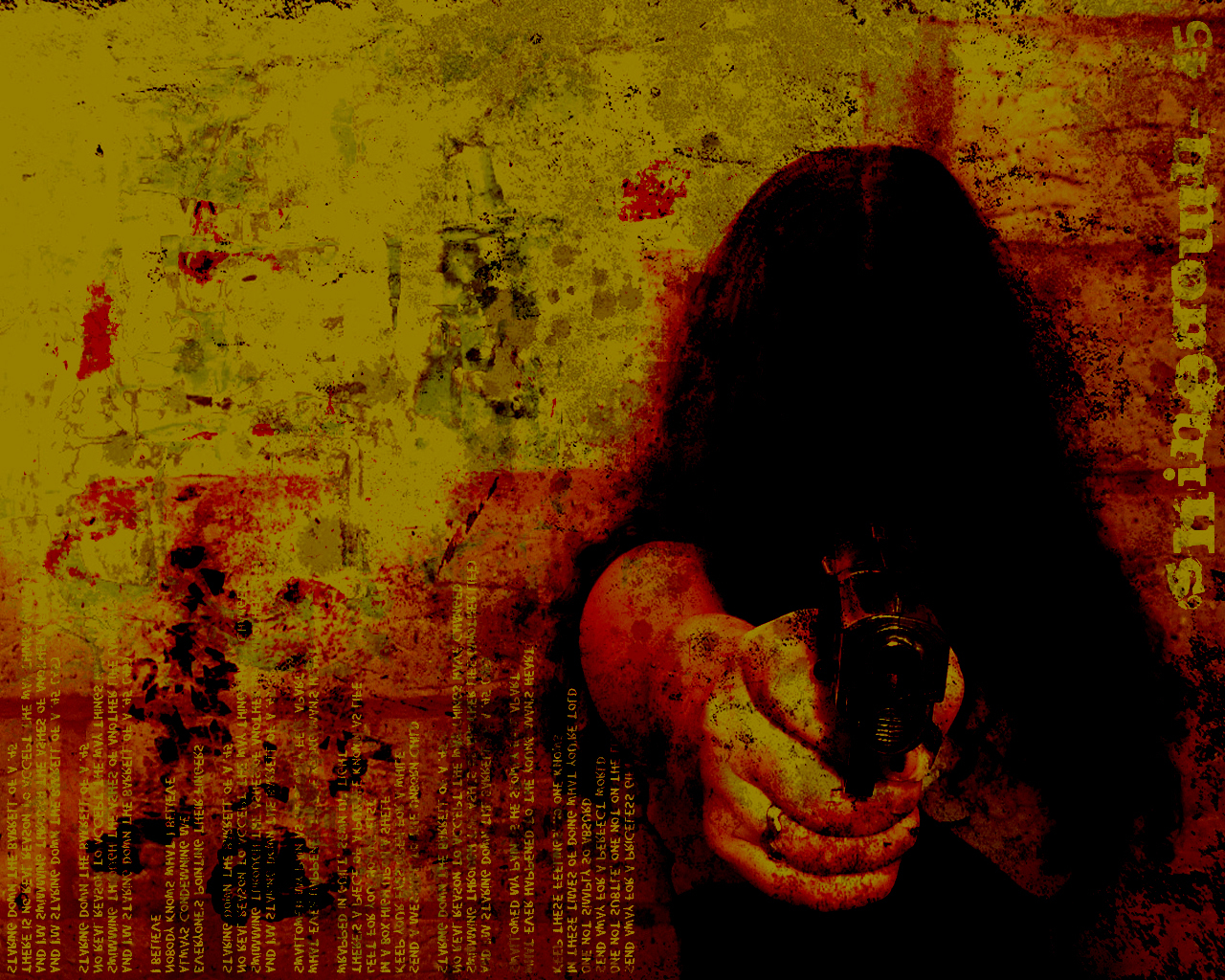 creepy Guns grunge HD Wallpaper