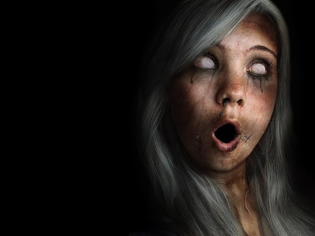creepy zombies Halloween scary HD Wallpaper