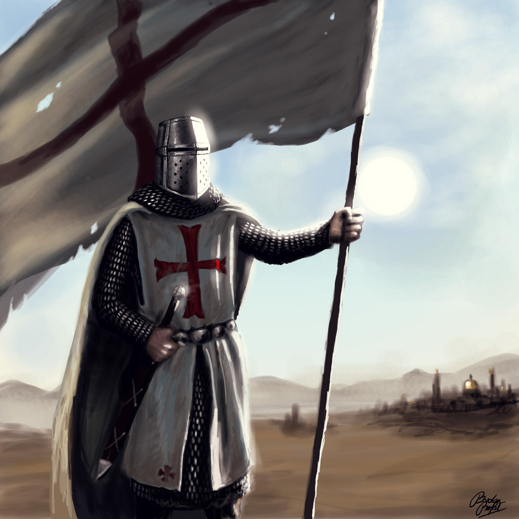 crusader HD Wallpaper