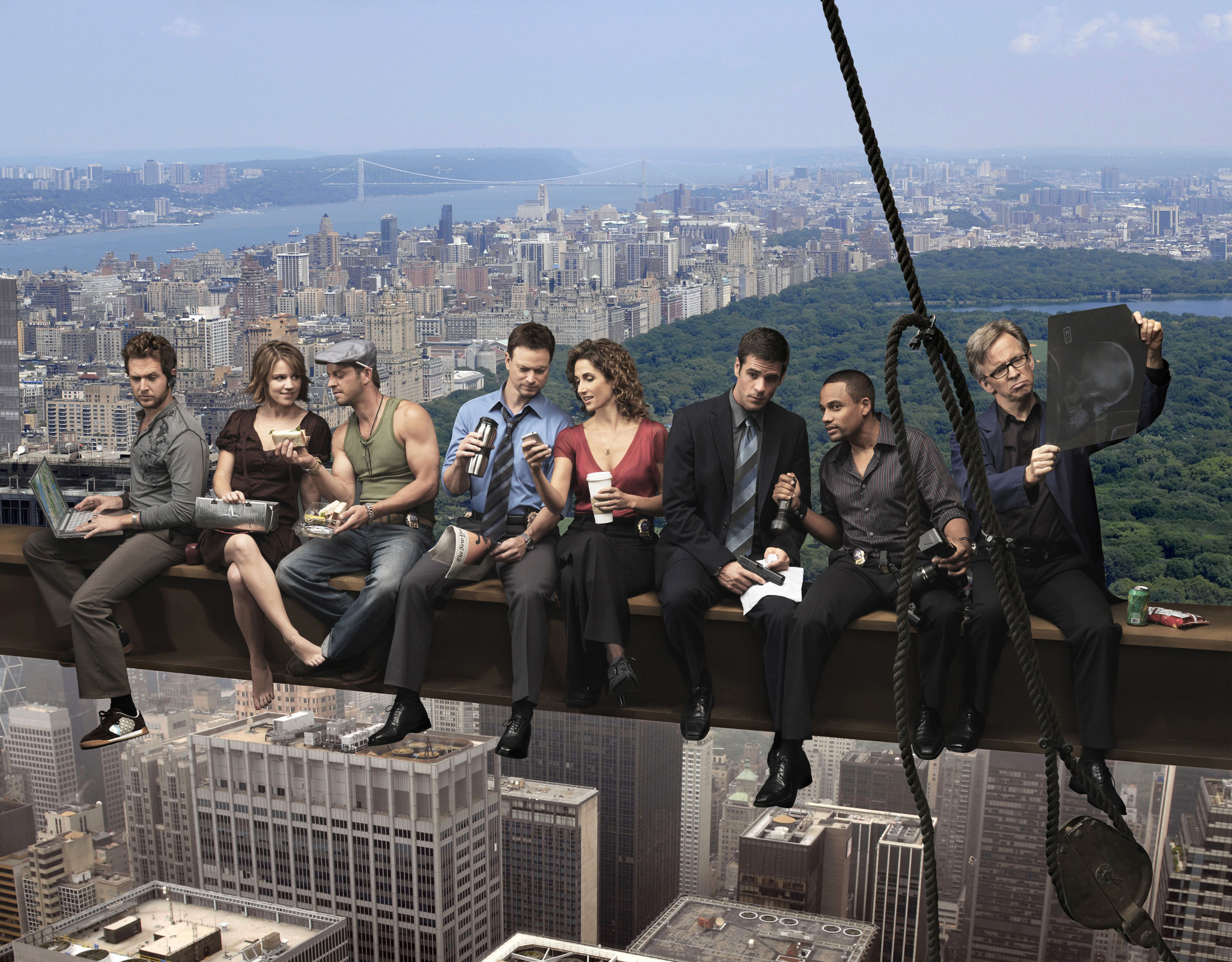 CSI ny high HD Wallpaper